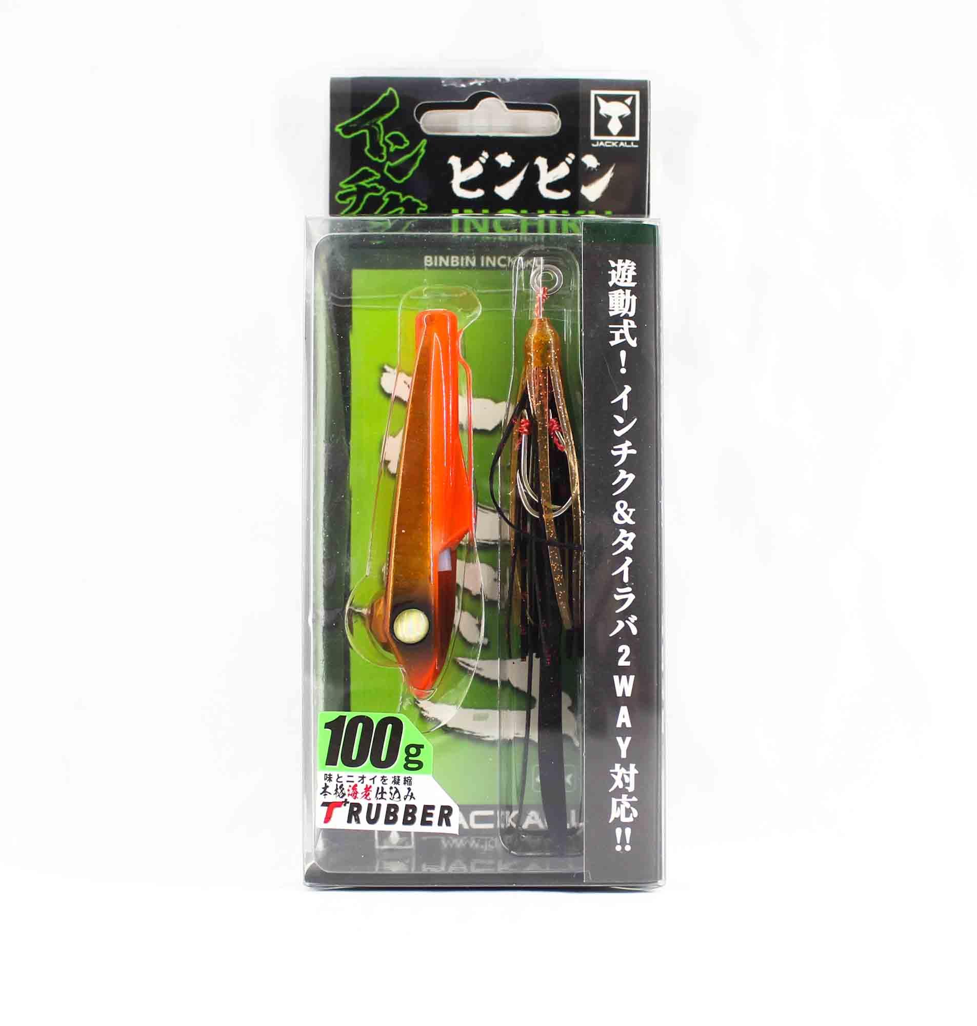 Jackall Bin Bin Inchiku 100 Grams Orange Red (2522)