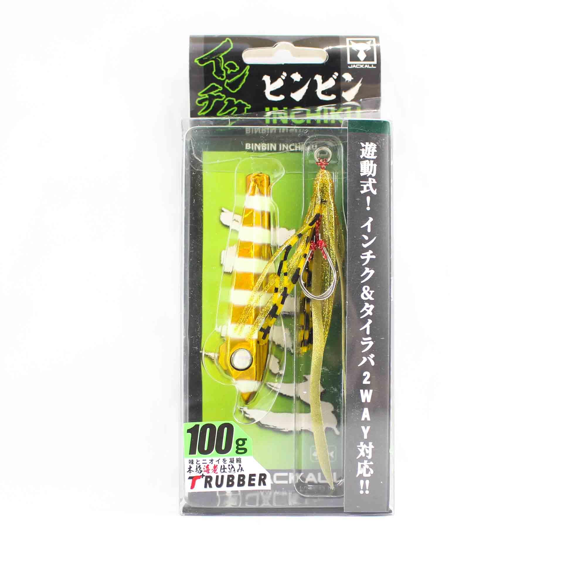Jackall Bin Bin Inchiku 100 Grams Glow Gold Stripe (2553)