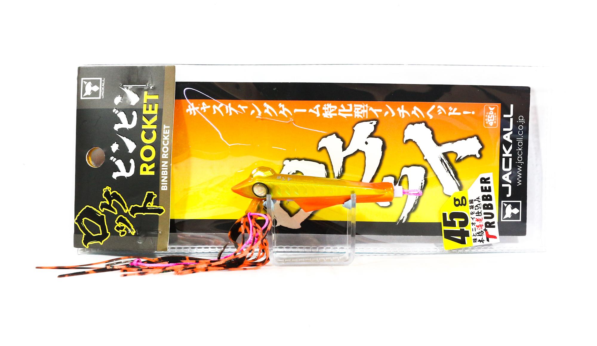 Jackall Bin Bin Rocket 45 grams Inchiku Orange Gold Simaore (3840)