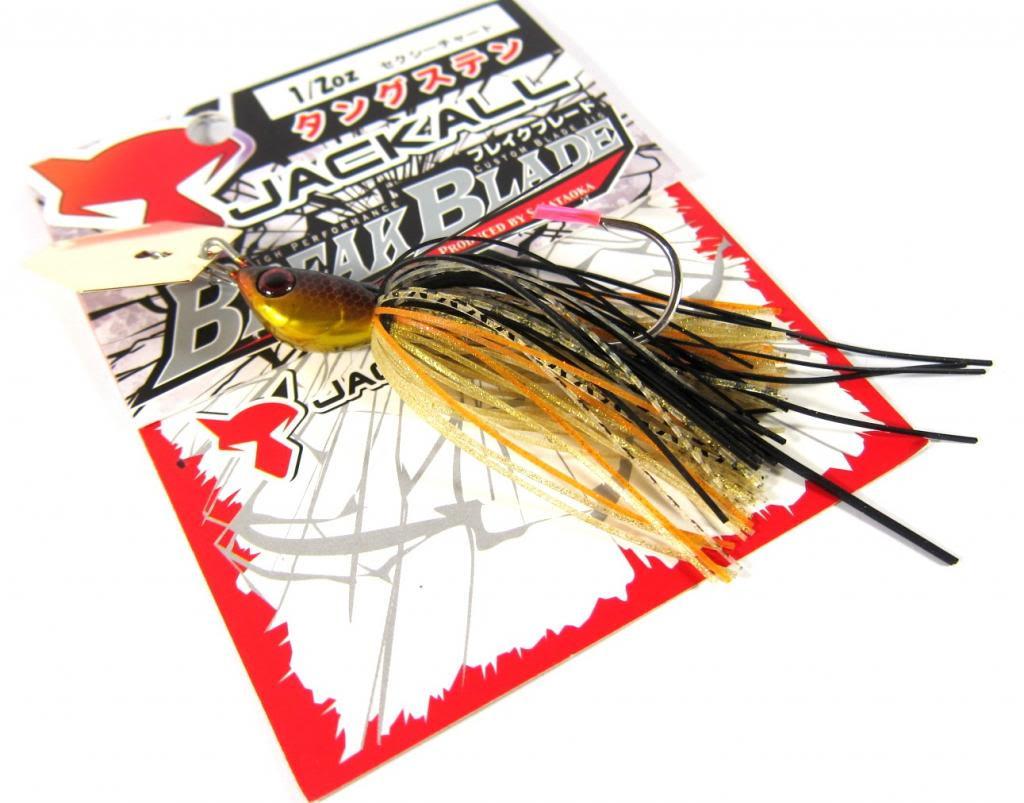 Jackall Break B Jig 1/2 oz Sinking Lure Golden Shad (9899)