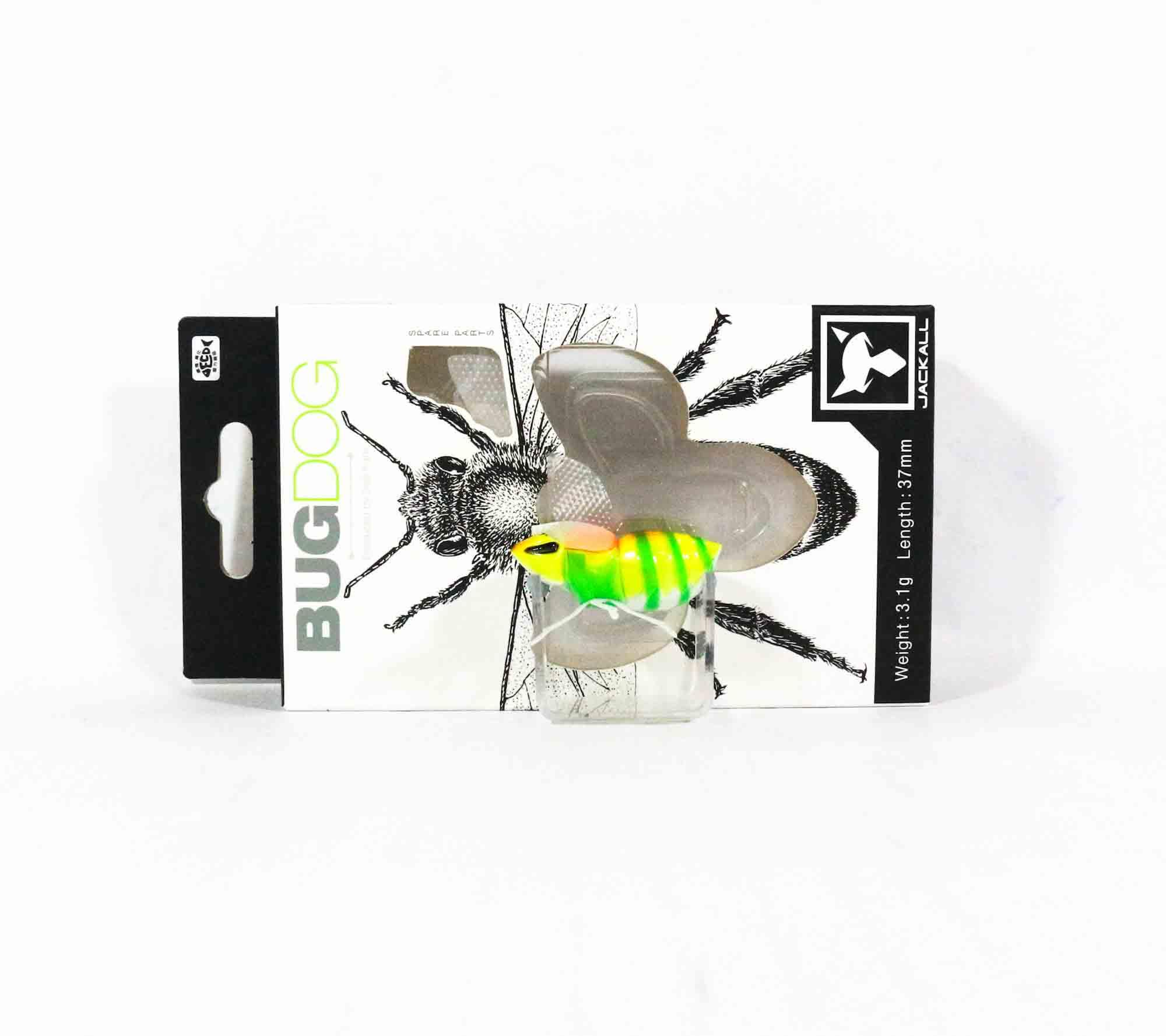 Jackall Bugdog 37mm Insect Floating Lure Uka Cicada 0961