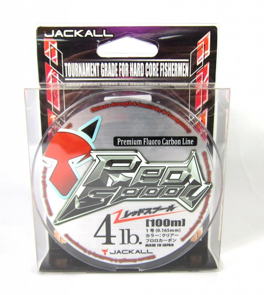 Jackall Fluorocarbon Line Red Spool Premium 3lb x 100m (1962)