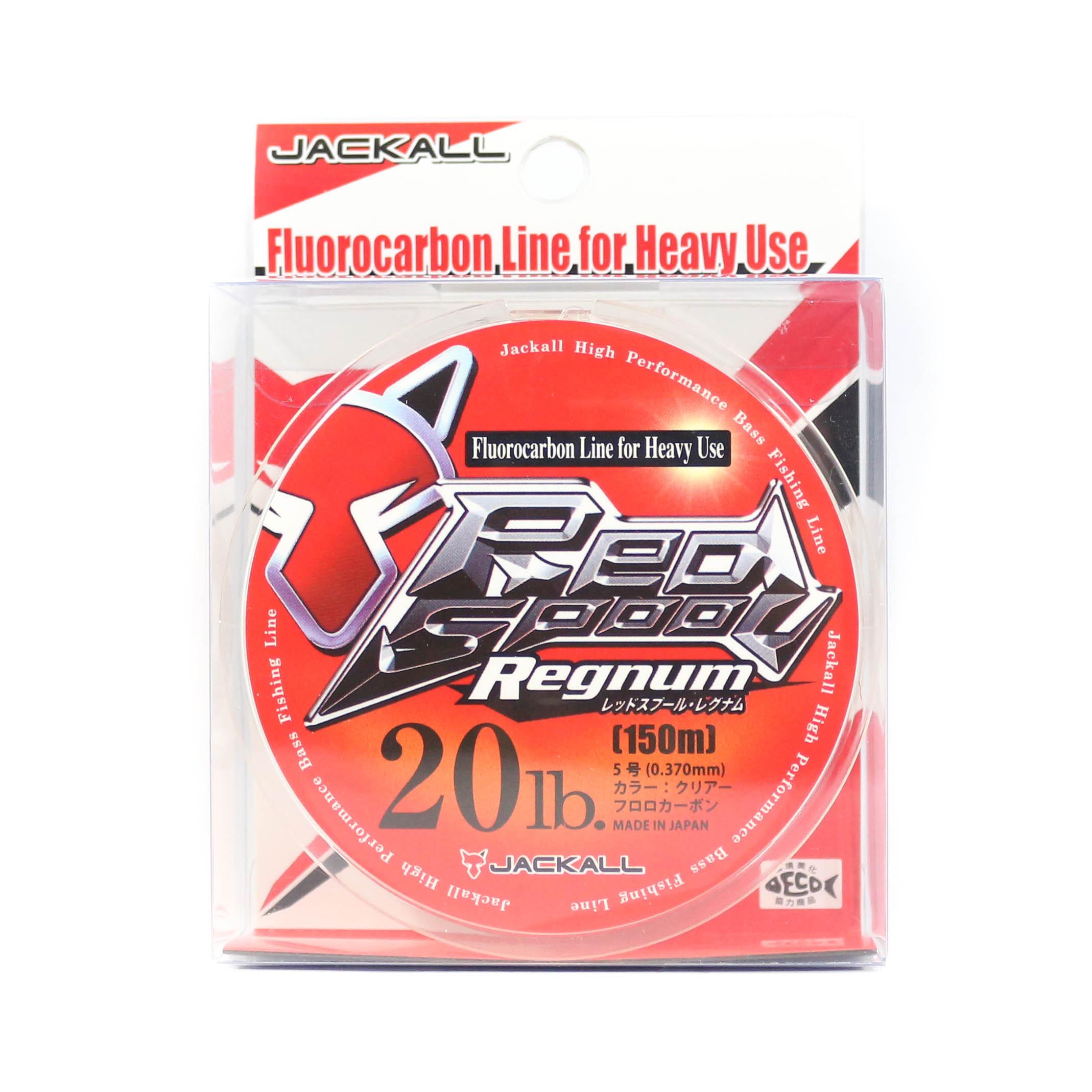 Jackall Fluorocarbon Line Red Spool Regnum 20lb x 150m (5203)