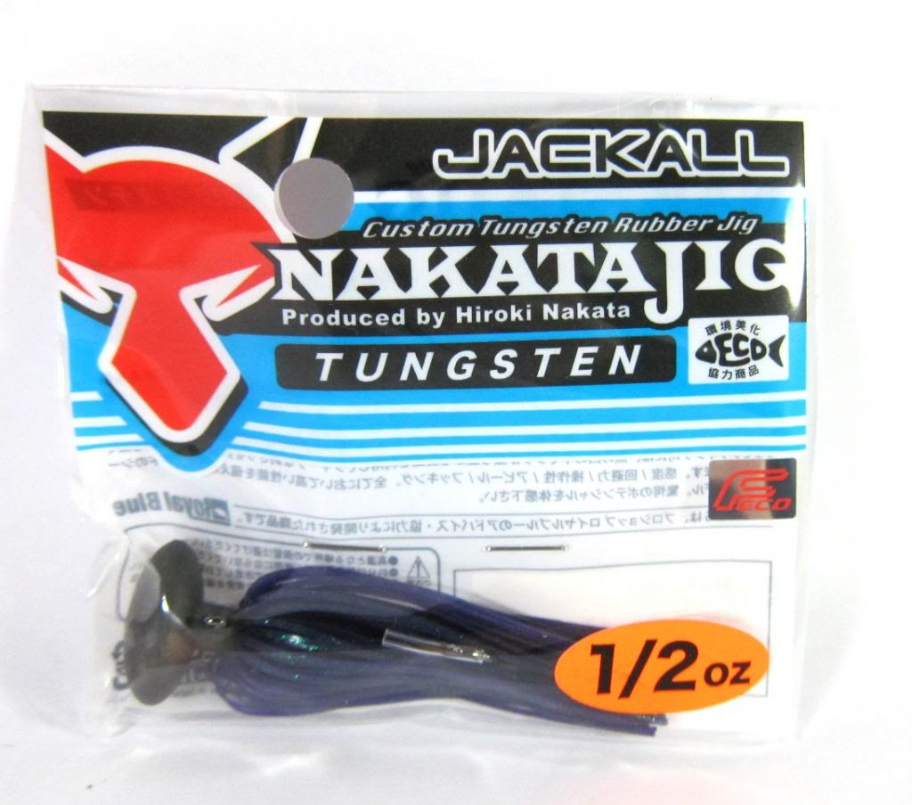 Sale Jackall Nakata Jig Rubber Casting Jig 1/2 oz June Bug (6422)