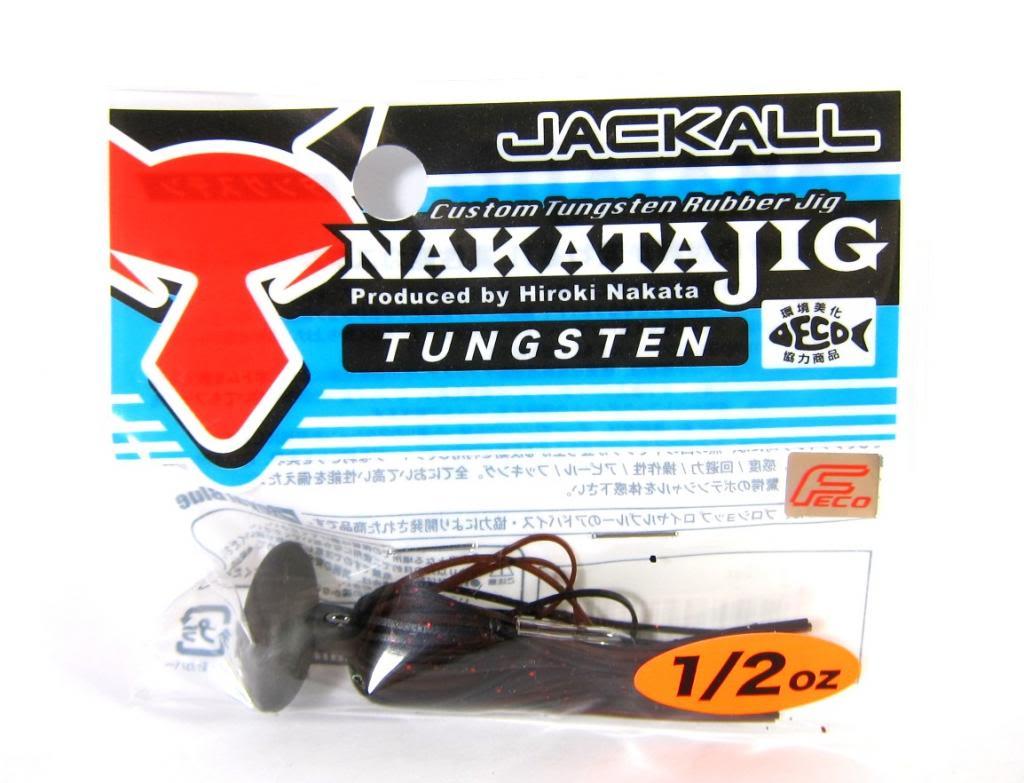 Sale Jackall Nakata Jig Rubber Casting Jig 1/2 oz Zarigani (6439)