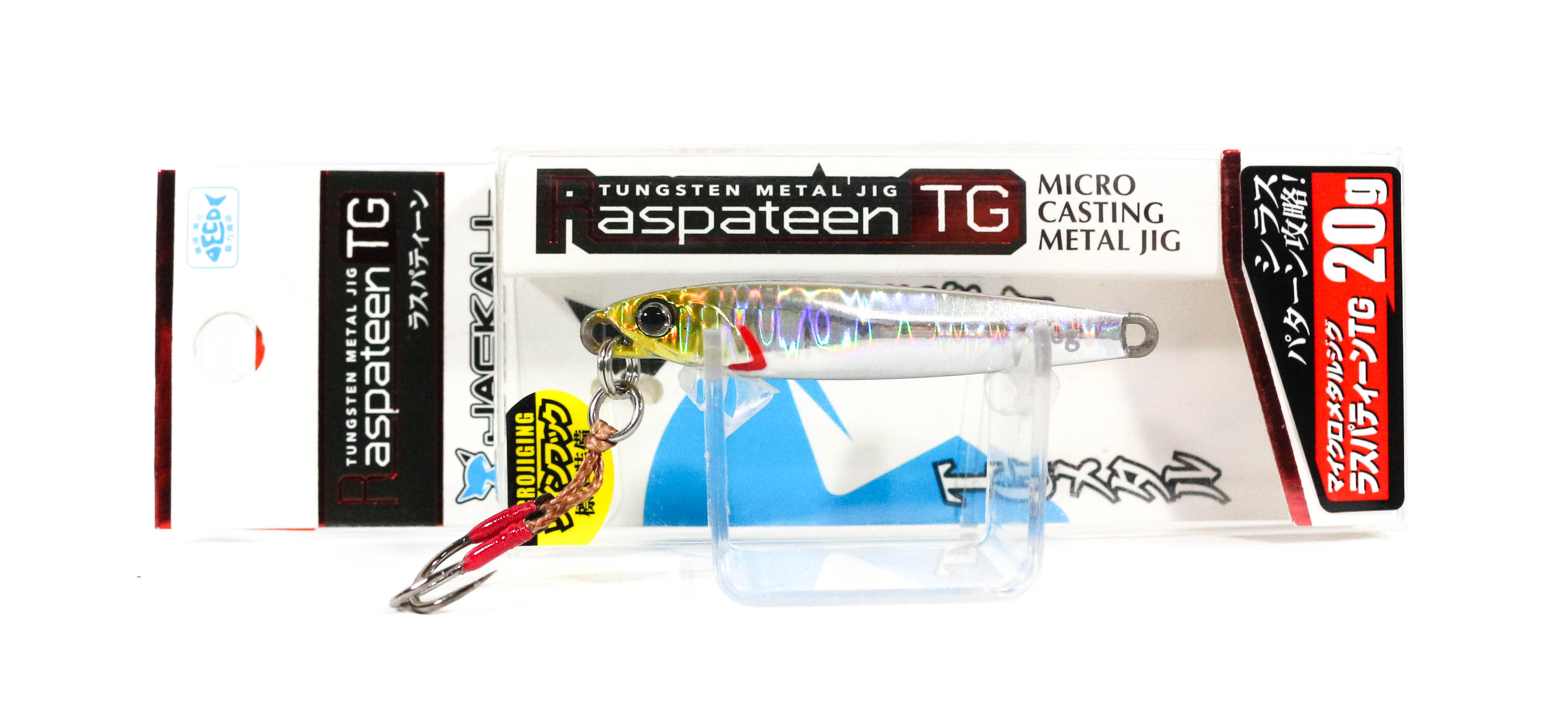 Jackall Metal Jig Raspateen TG Tungsten 20 grams Shirasu Silver (3615)