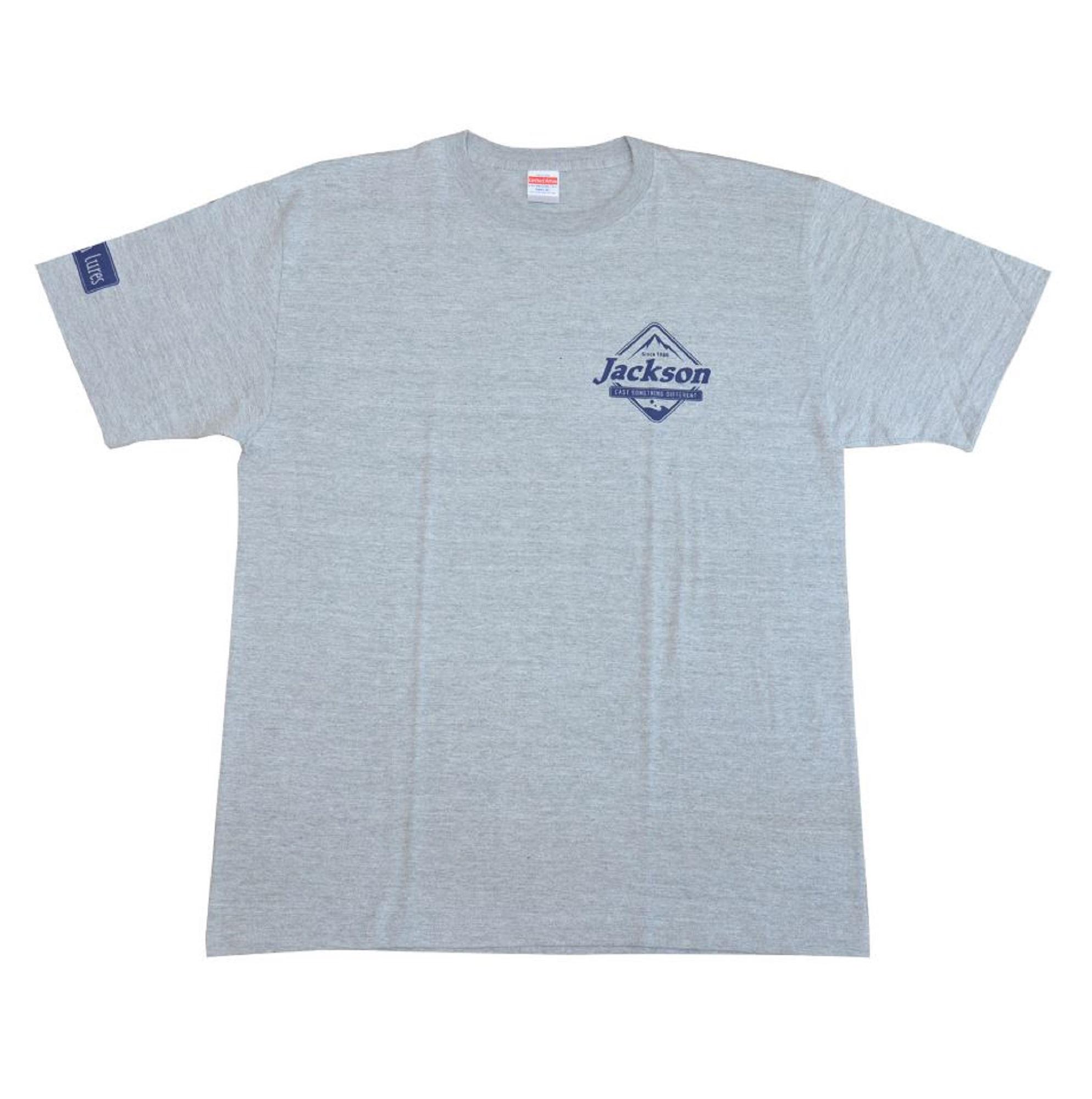 Jackson T-shirt Logo Tee Gray XL (8987)