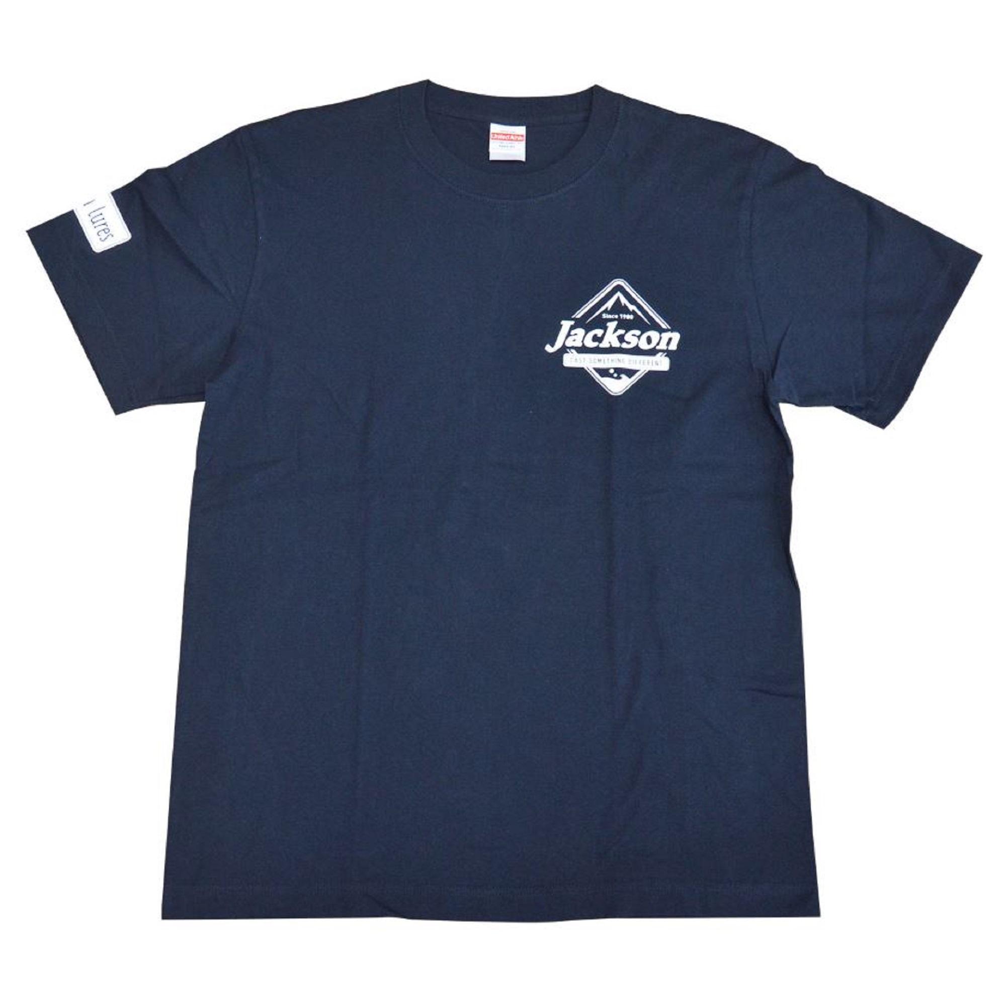 Jackson T-shirt Logo Tee Navy L (9052)