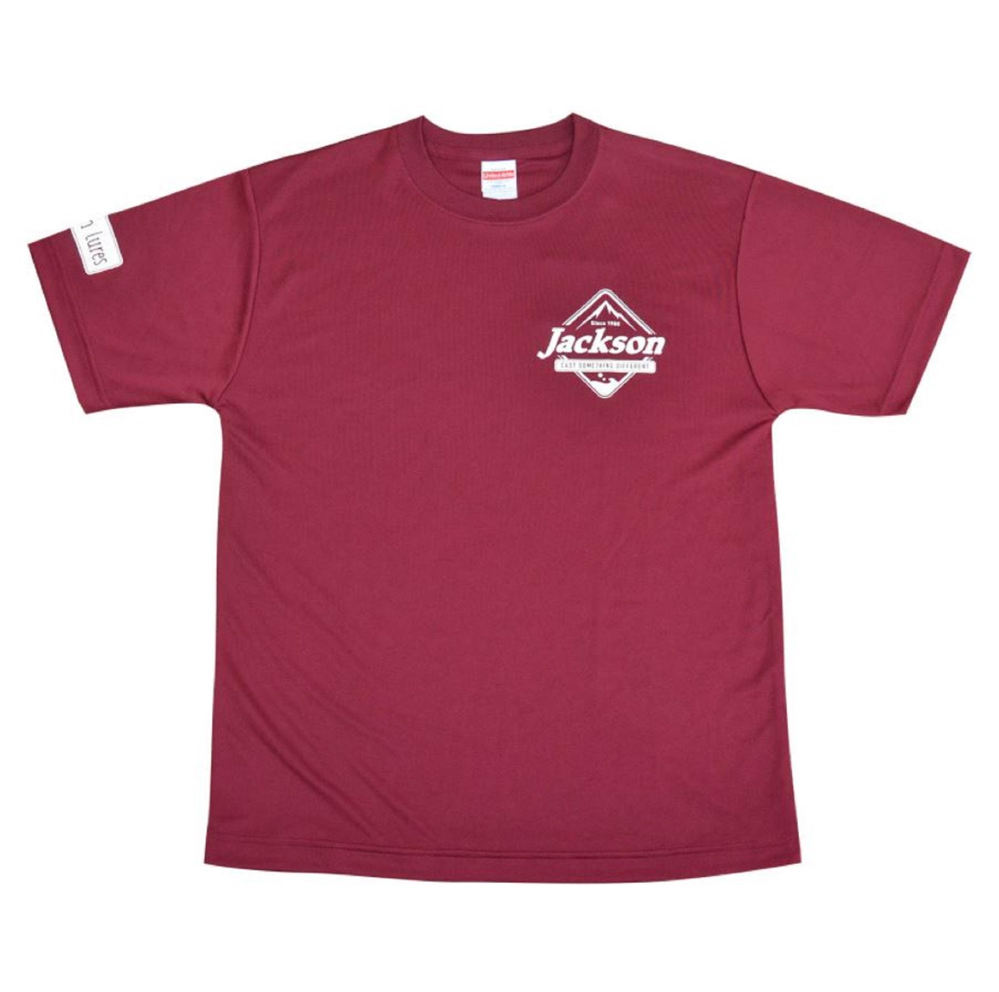 Jackson T-shirt Silky Touch Tee Burgundy L (9144)