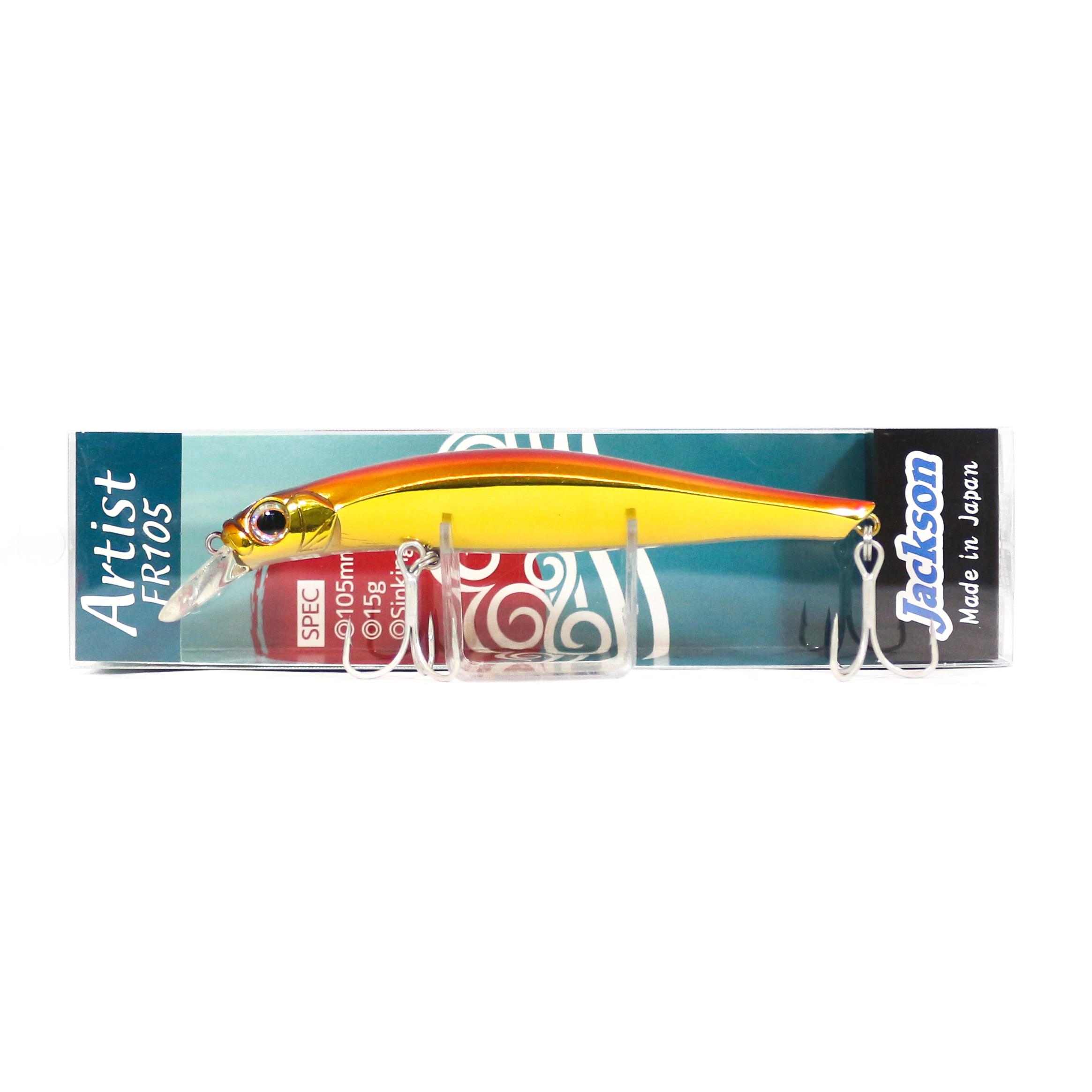 Jackson Artist FR 105 Sinking Minnow Lure CGR (4240)