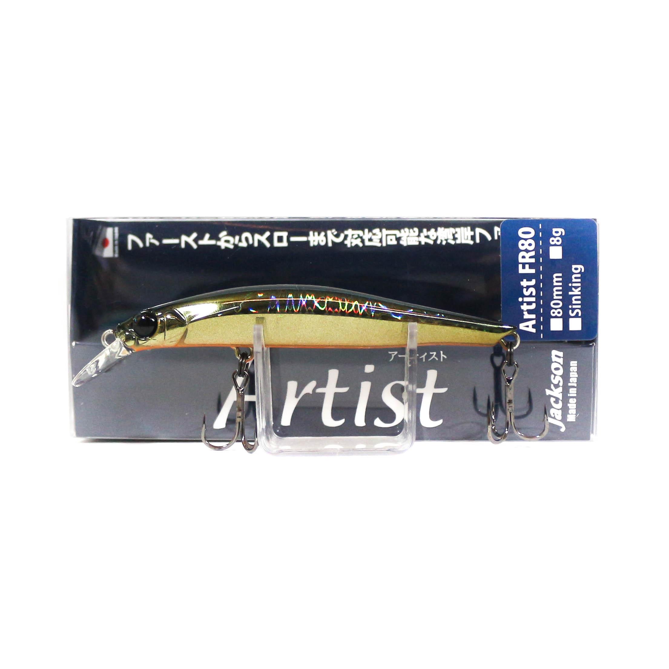 Jackson Artist FR 80 Sinking Minnow Lure GDS (5069)