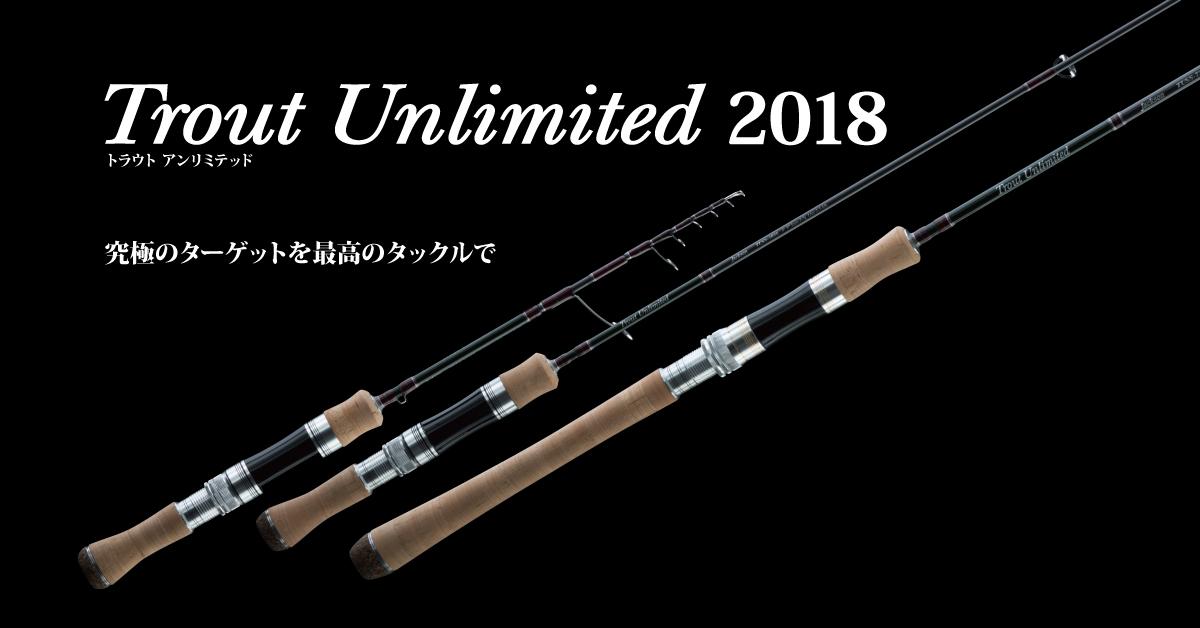 Jackson Rod Baitcast Trout Unlimited TUSC 432L 2 piece (0660)
