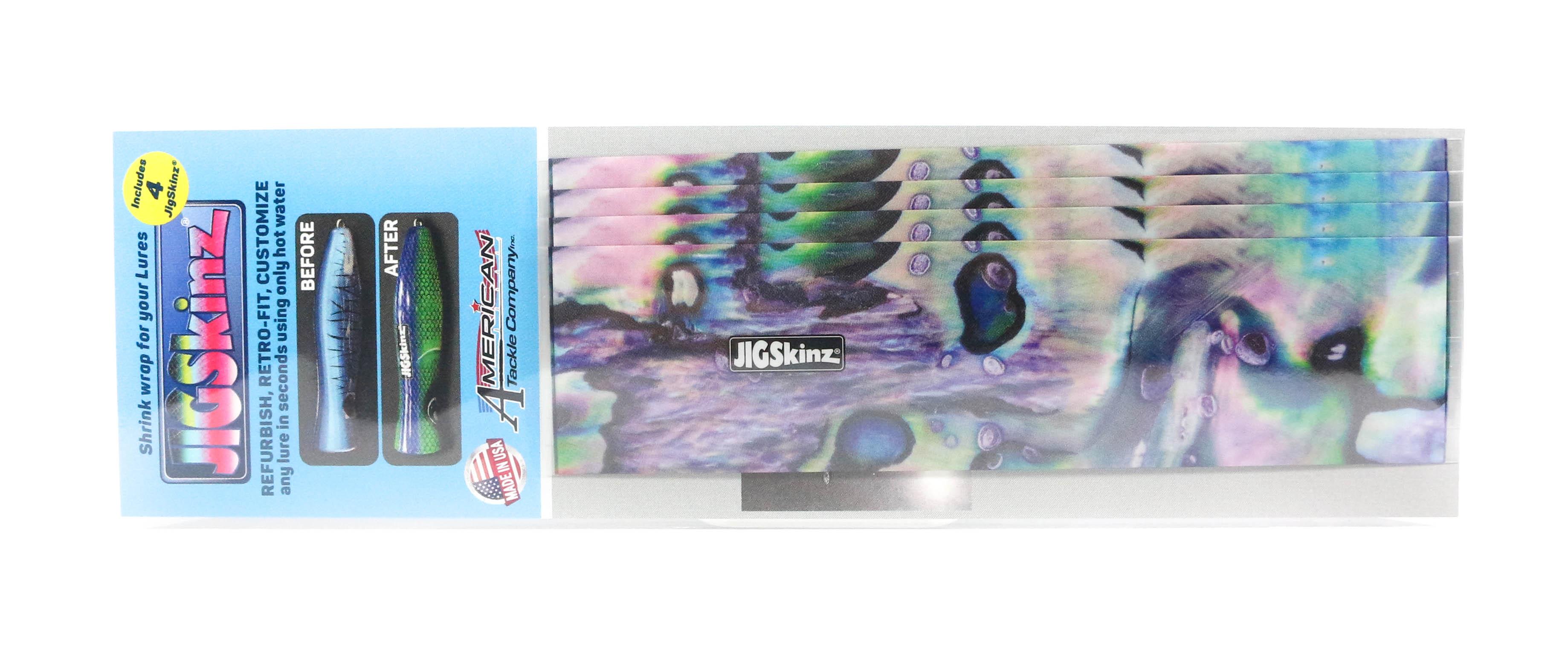 Jigskinz JZABP-S4 Abalone Purple 140 x 70mm x 4 pieces Small (3220)
