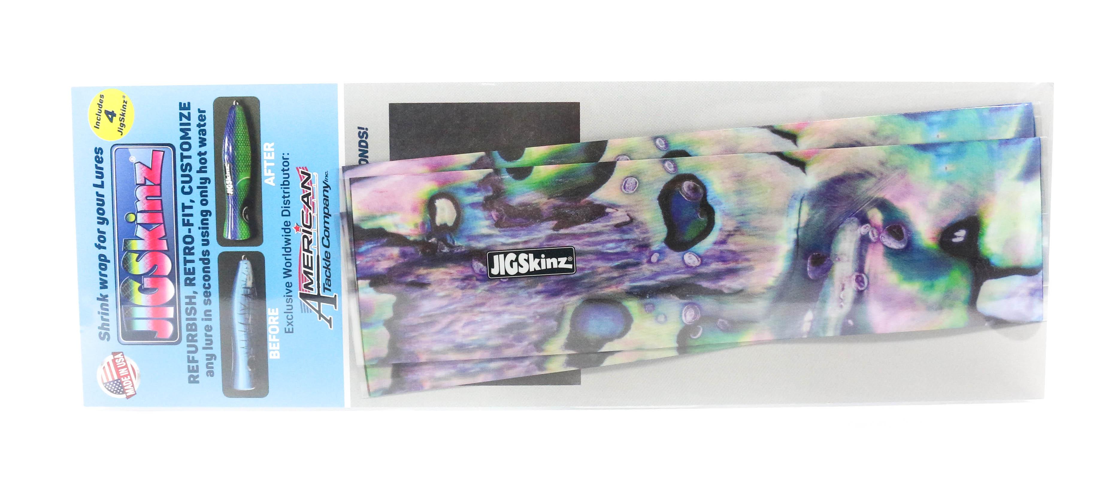 Jigskinz JZABP-L4 Abalone Purple 200 x 110mm x 4 pieces Large (3244)