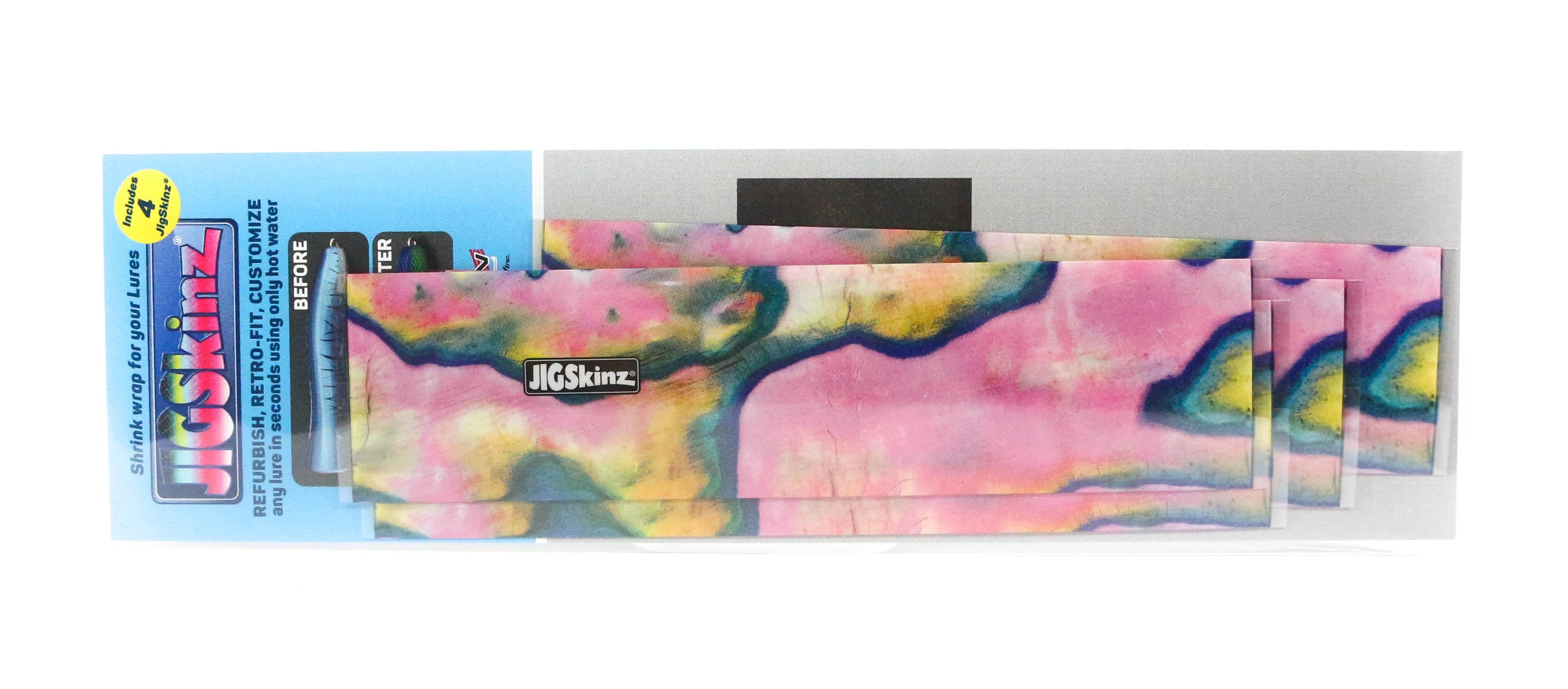 Jigskinz JZABPK-S4 Abalone Pink 140 x 70mm x 4 pieces Small (3268)