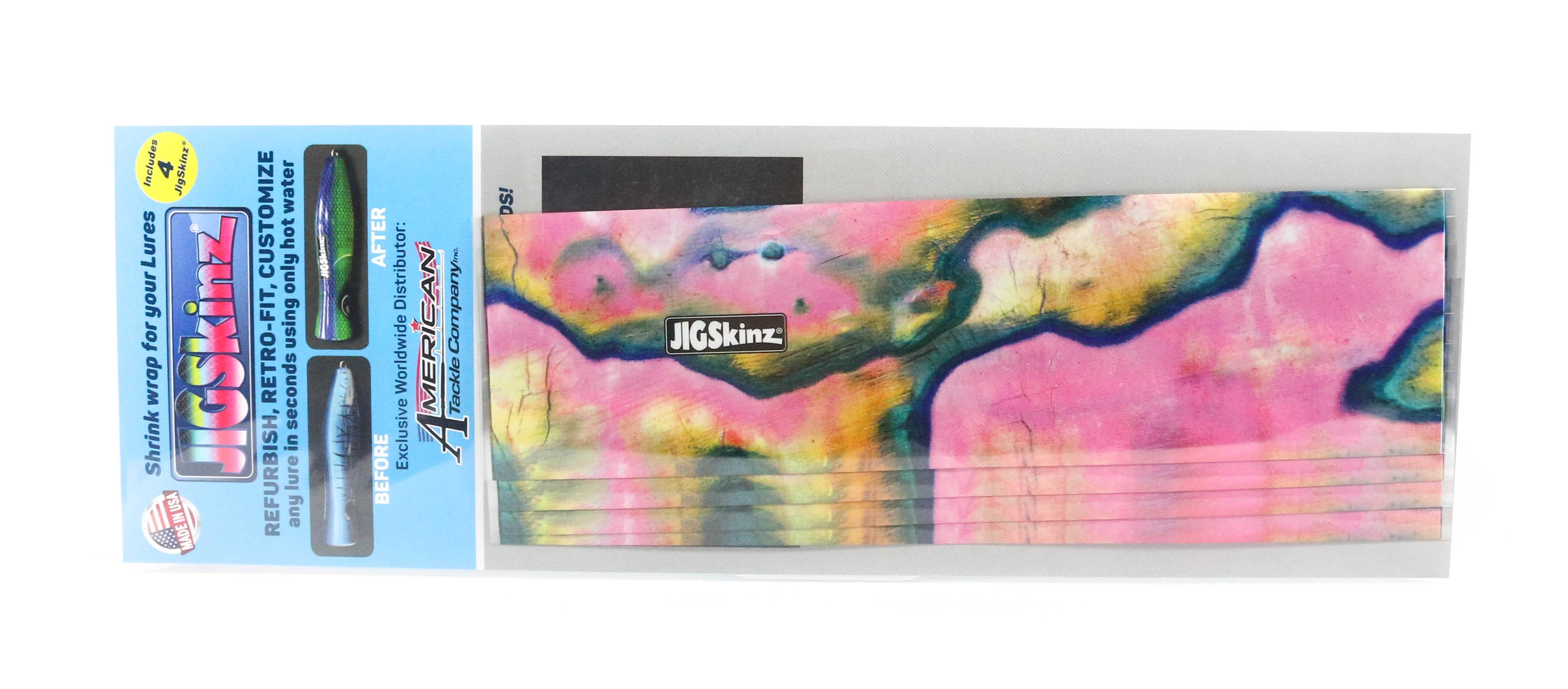 Jigskinz JZABPK-L4 Abalone Pink 200 x 110mm x 4 pieces Large (3282)