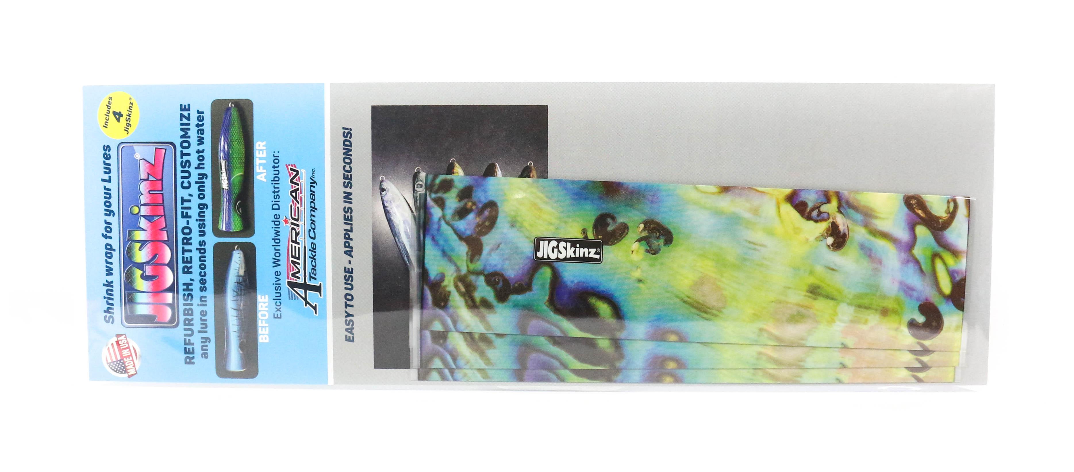 Jigskinz JZABY-M4 Abalone Yellow 170 x 95mm x 4 pieces Medium (3312)