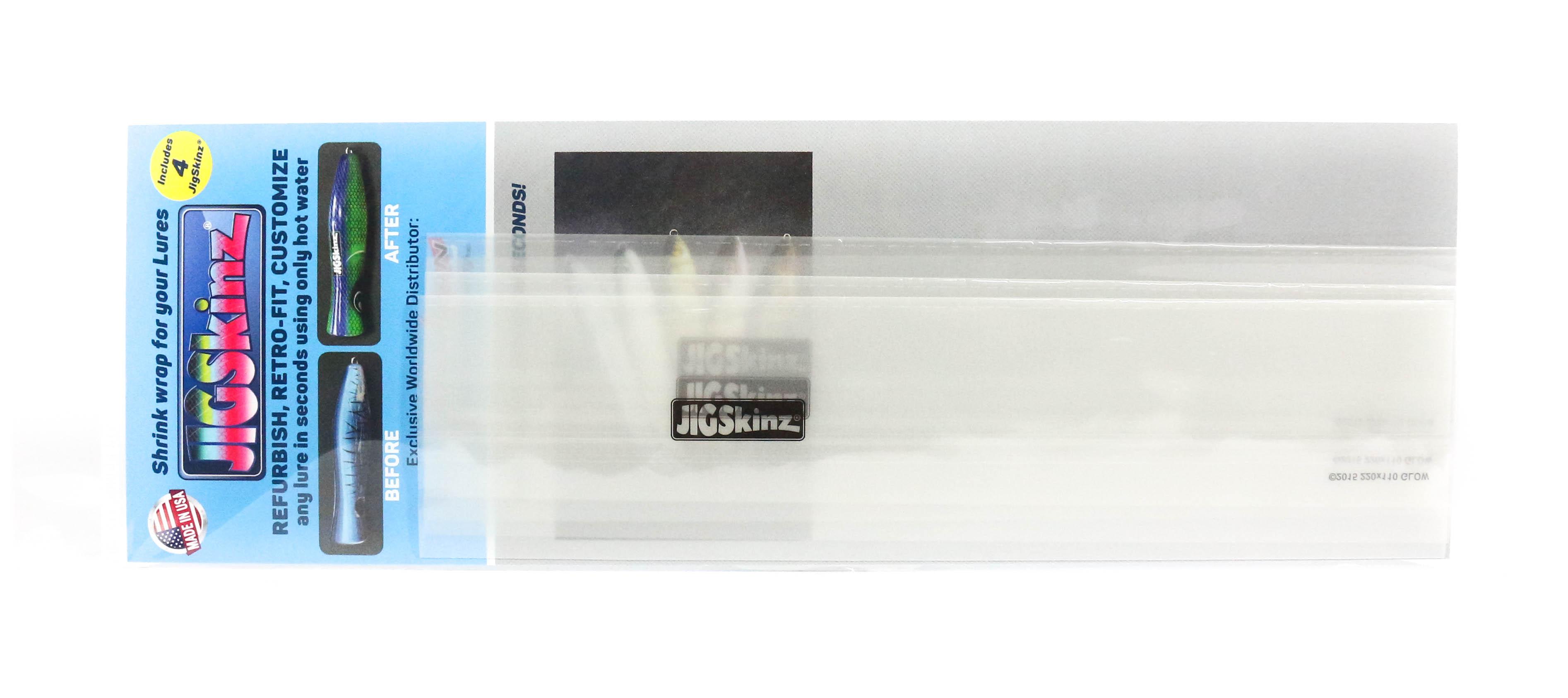 Sale Jigskinz JZGC-L4 Glow Clear 220 x 110mm x 4 pieces Large (7400)