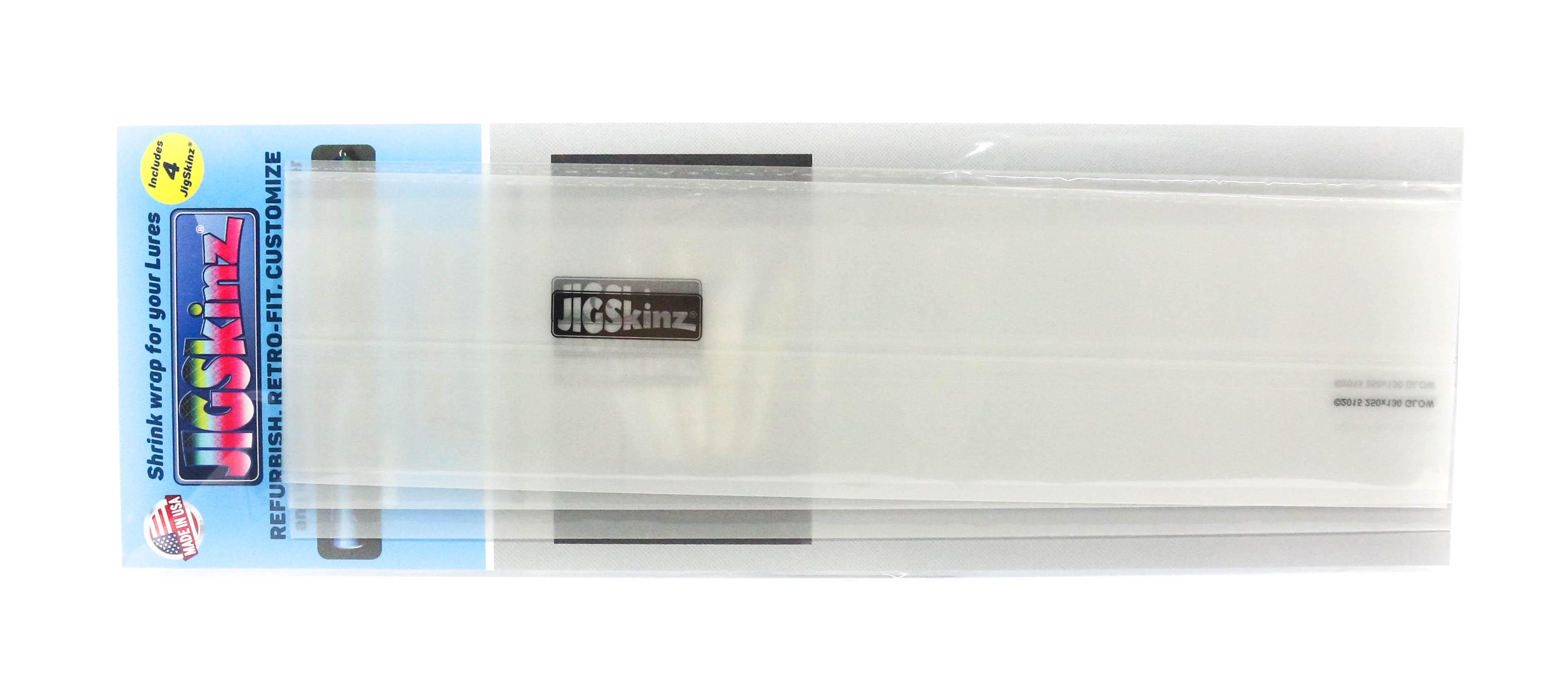 Jigskinz JZGC-XL4 Glow Clear 250 x 130mm x 4 pieces X-Large (7417)