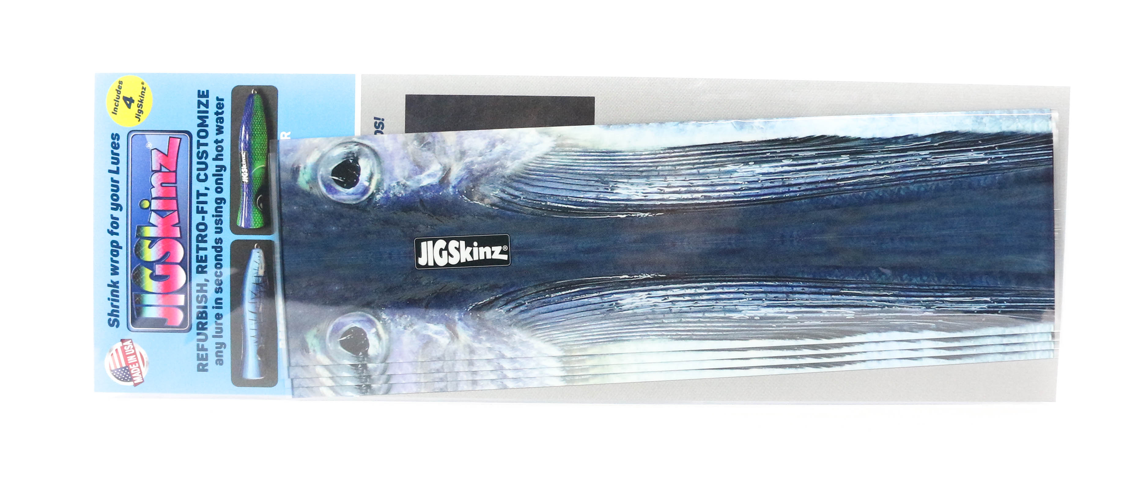 Jigskinz JZRLFF-XL4 RL Flying Fish 230 x 130mm x 4 pieces X-Large (7769)