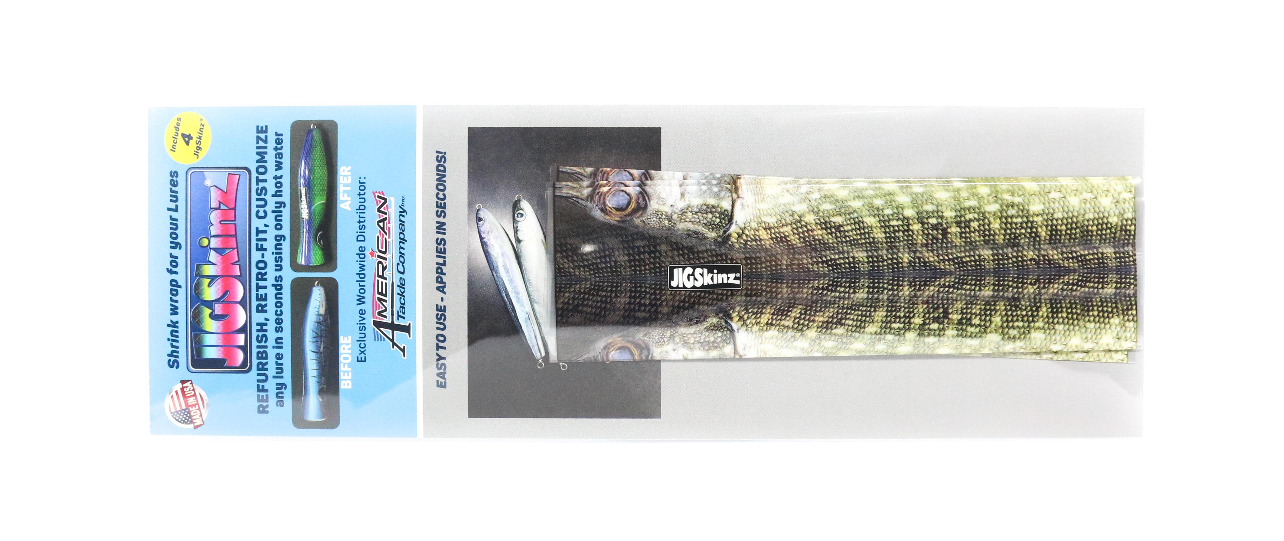 Jigskinz JZRLPK-M4 RL Pike 170 x 95mm x 4 pieces Medium (7905)
