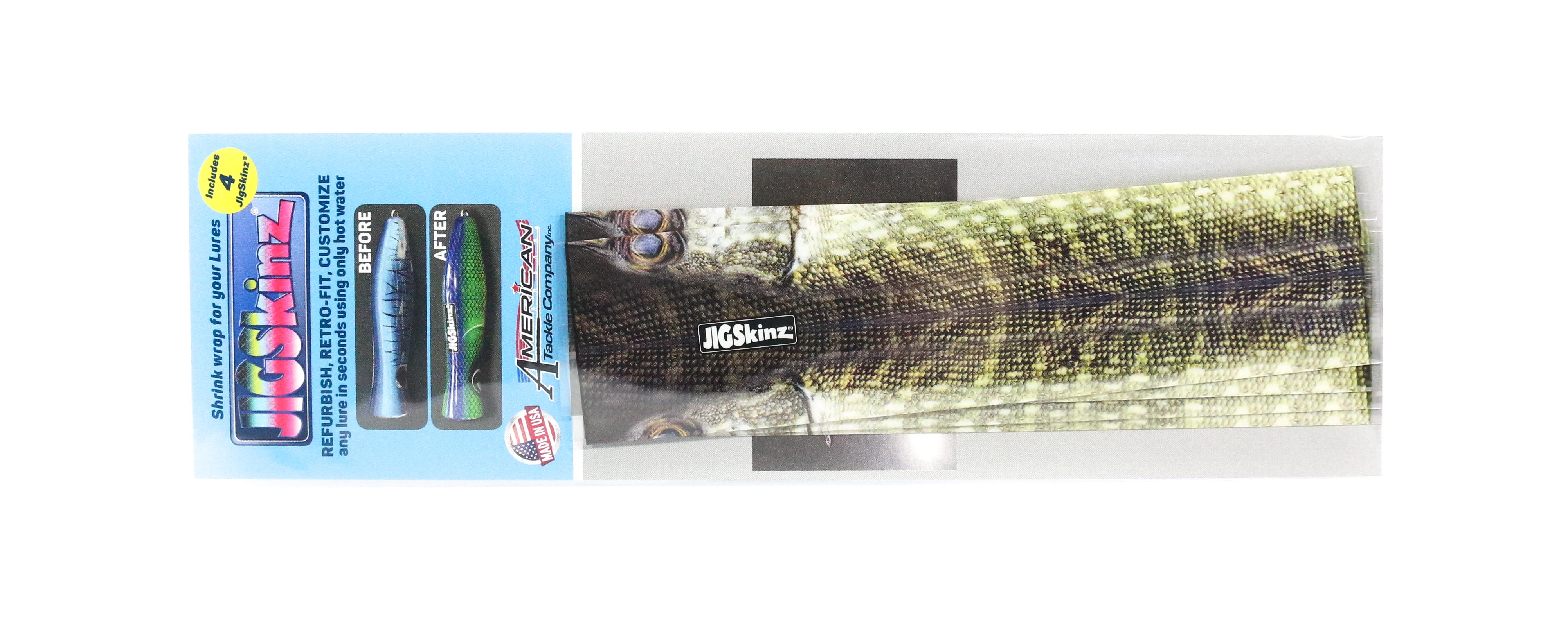Jigskinz JZRLPK-S4 RL Pike 140 x 70mm x 4 pieces Small (7912)