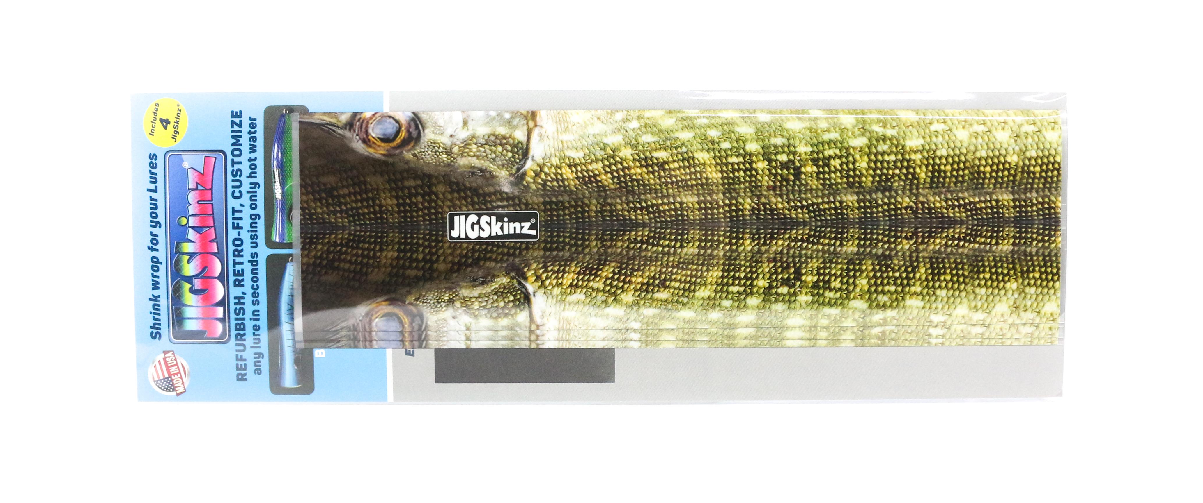 Jigskinz JZRLPK-XL4 RL Pike 230 x 130mm x 4 pieces X-Large (7929)
