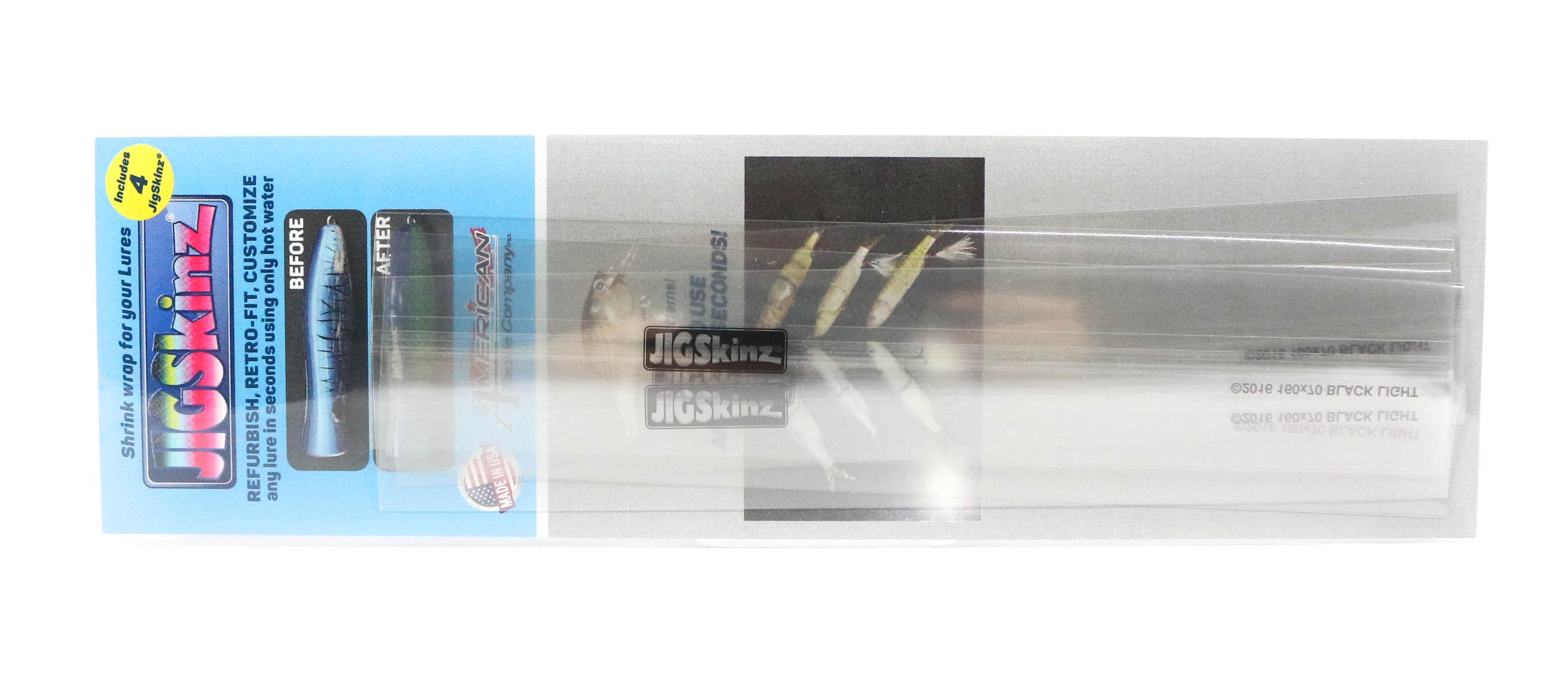 Jigskinz JZC-S4 UV Clear 160 x 70mm x 4 pieces Small (7295)