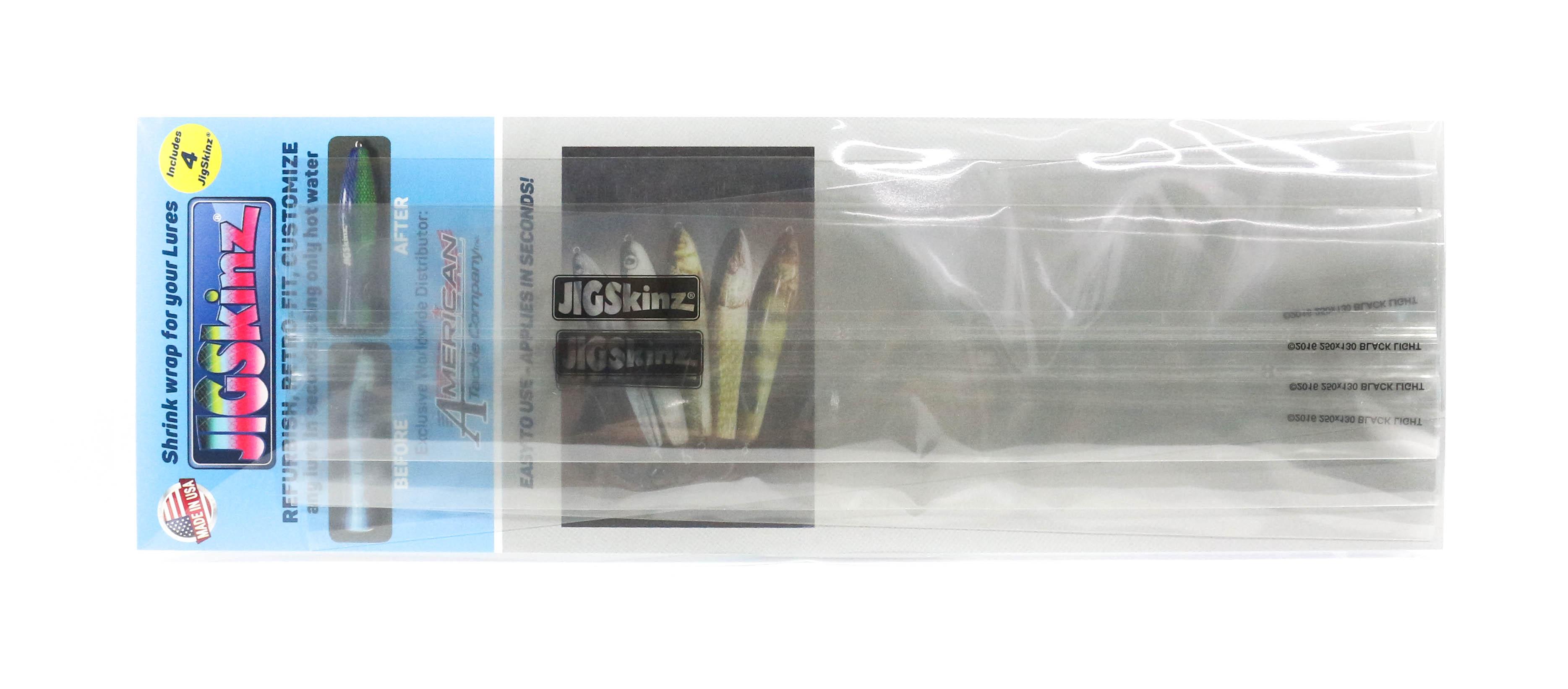 Sale Jigskinz JZC-XL4 UV Clear 250 x 130mm x 4 pieces X-Large (7332)