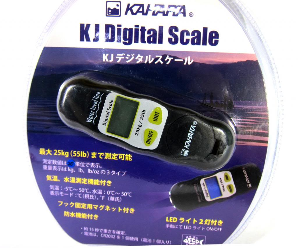 Kahara KJ Digital Scale with LED Light Max 25kg Water Resistant (3837)