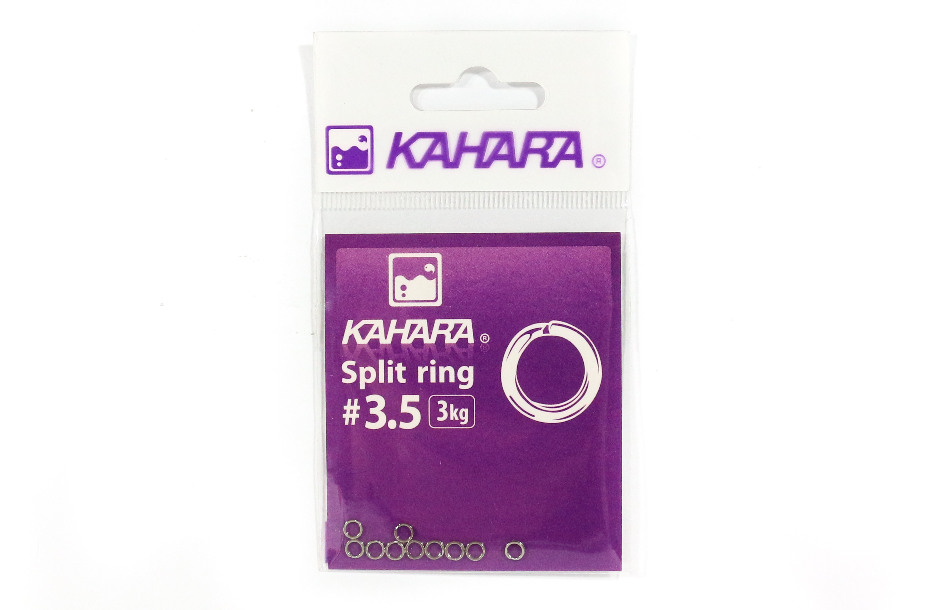 Kahara Split Ring Stainless Steel Size 3.5 (0690)
