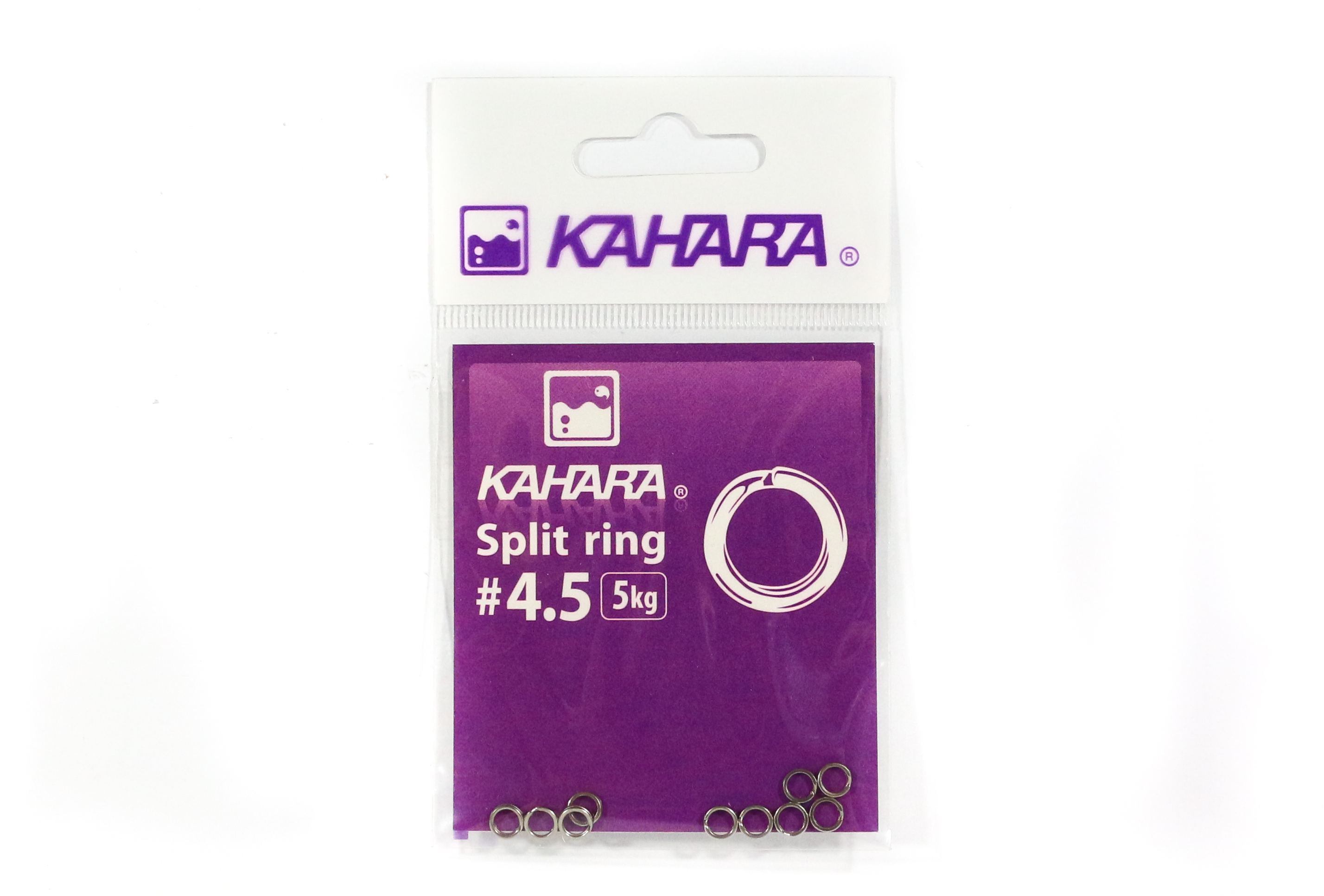 Kahara Split Ring Stainless Steel Size 4.5 (0713)