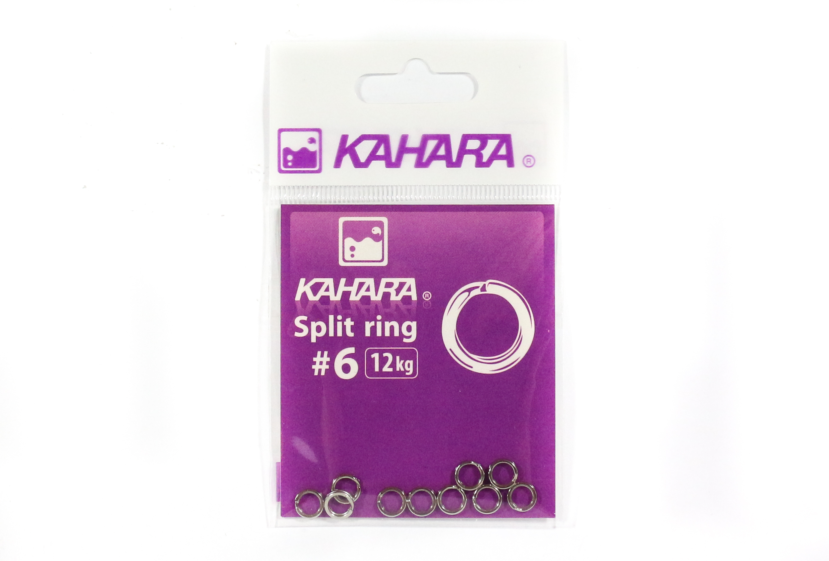 Kahara Split Ring Stainless Steel Size 6 (0737)