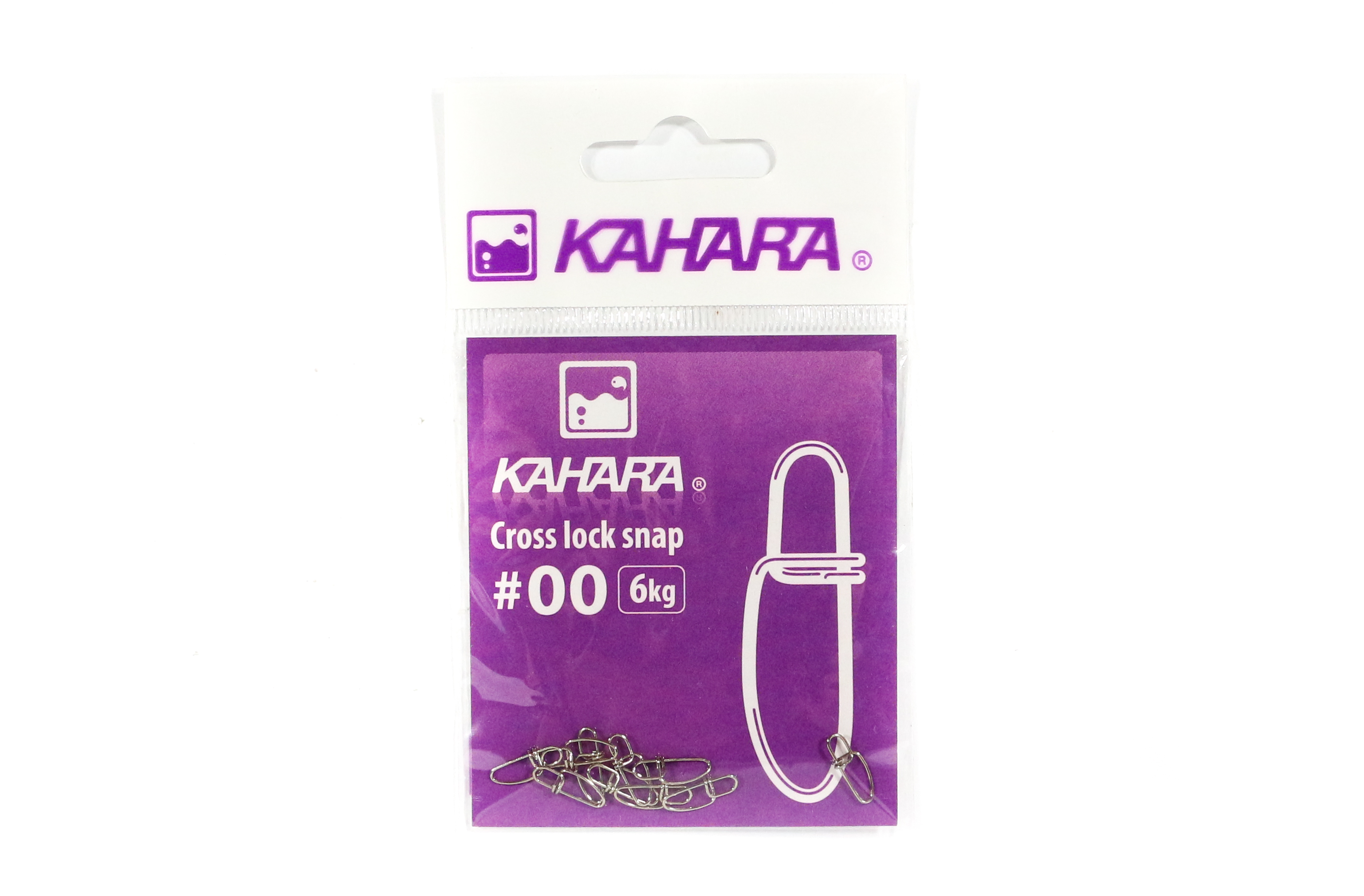 Kahara Cross Lock Lure Snap Size 00 (0652)