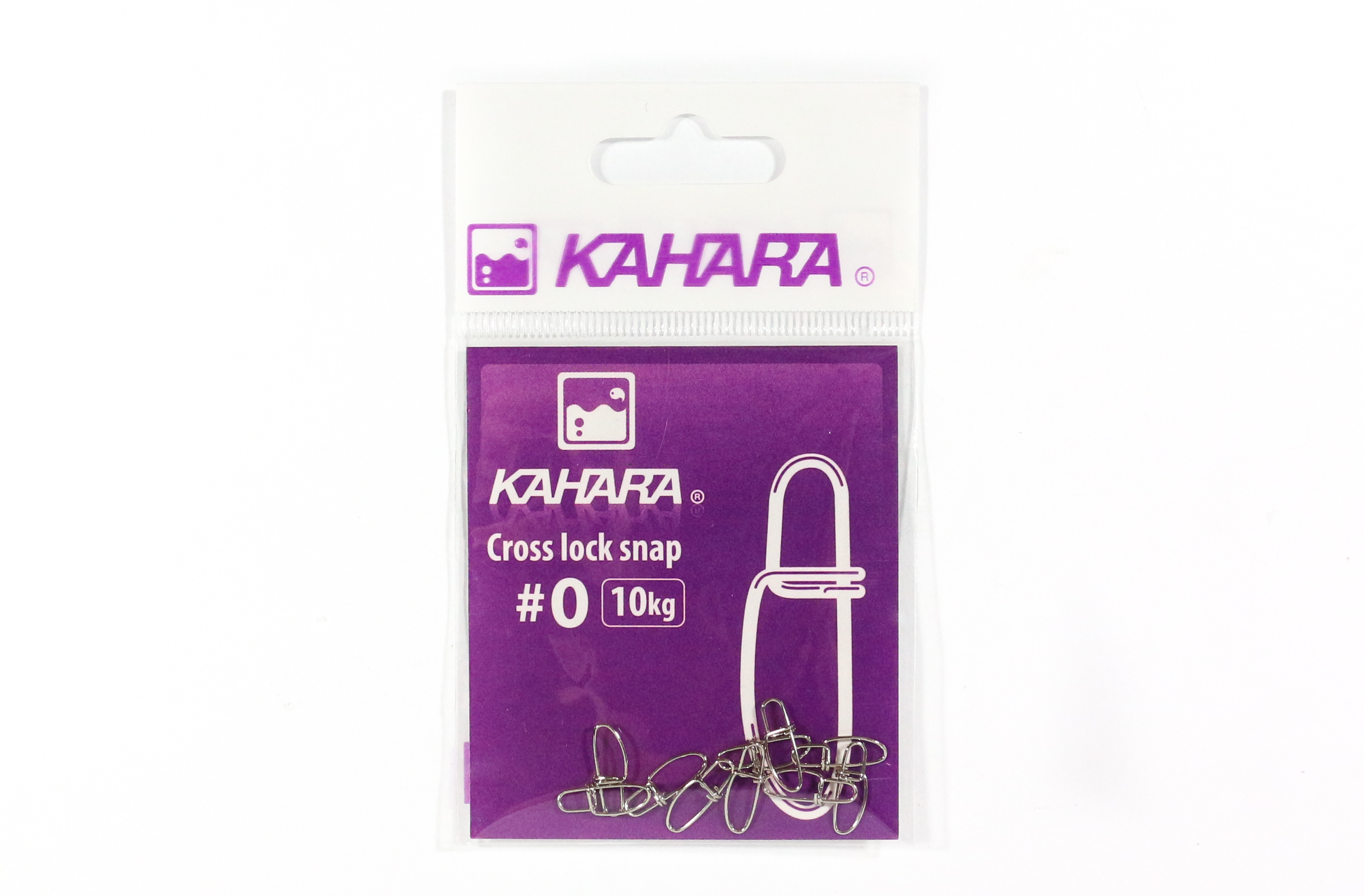 Kahara Cross Lock Lure Snap Size 0 (0669)