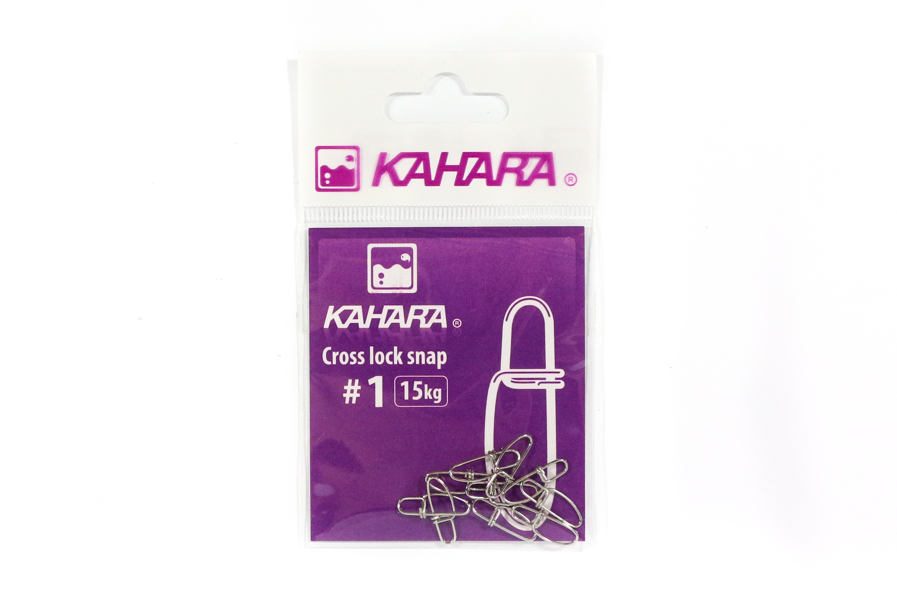 Kahara Cross Lock Lure Snap Size 1 (0676)