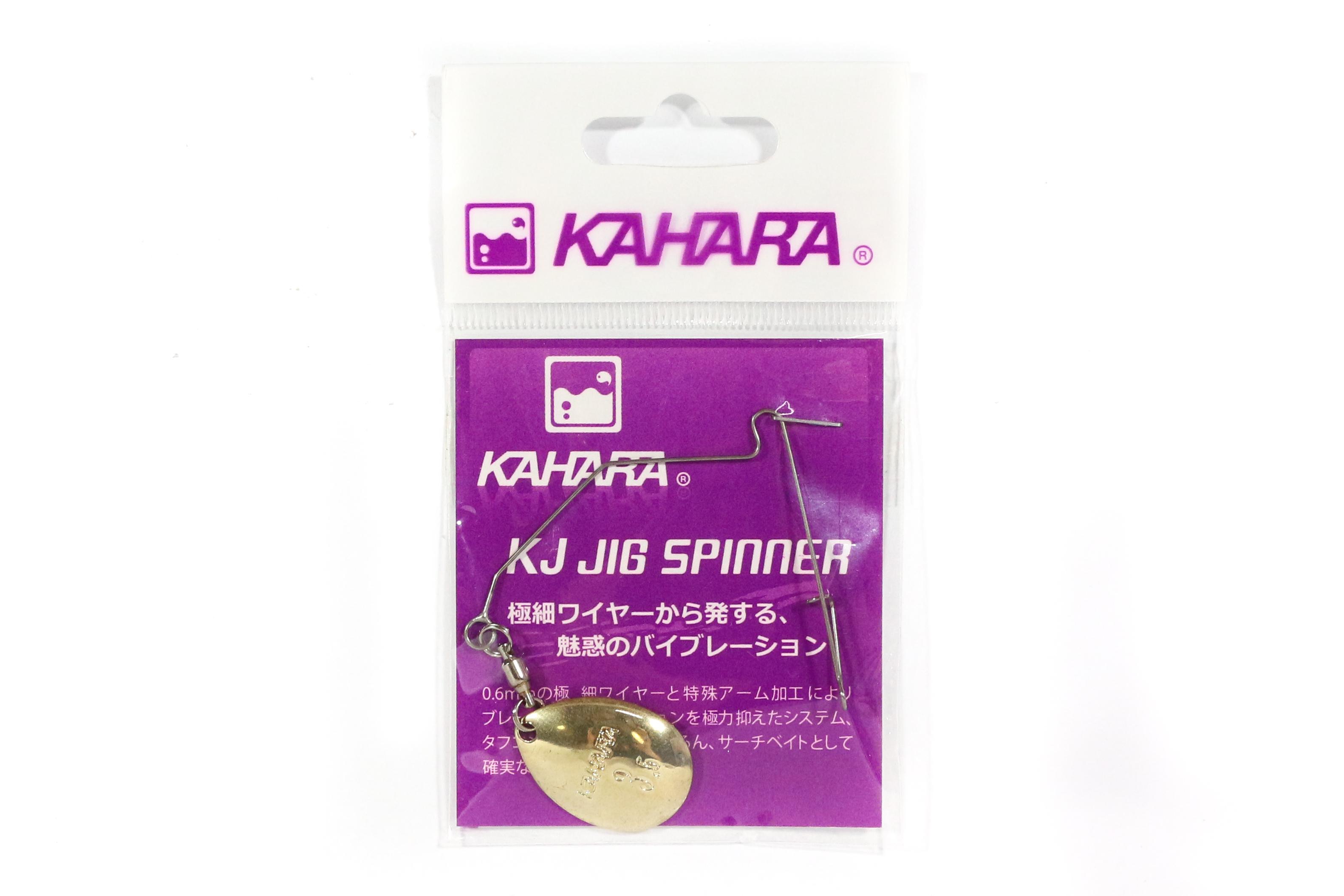 Kahara KJ Jig Spinner Wire Colarado Blade Gold Size 3.5 (1871)