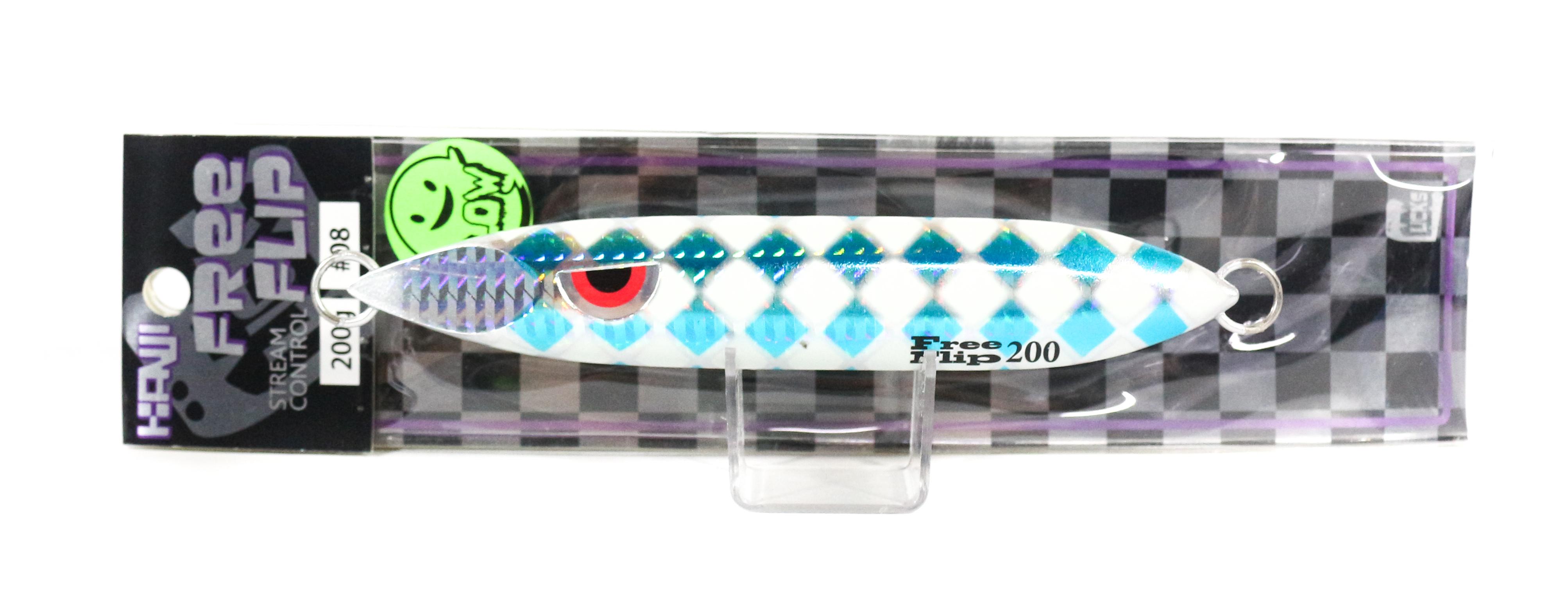 Kanji Metal Jig Free Flip 200 grams 08 (5488)