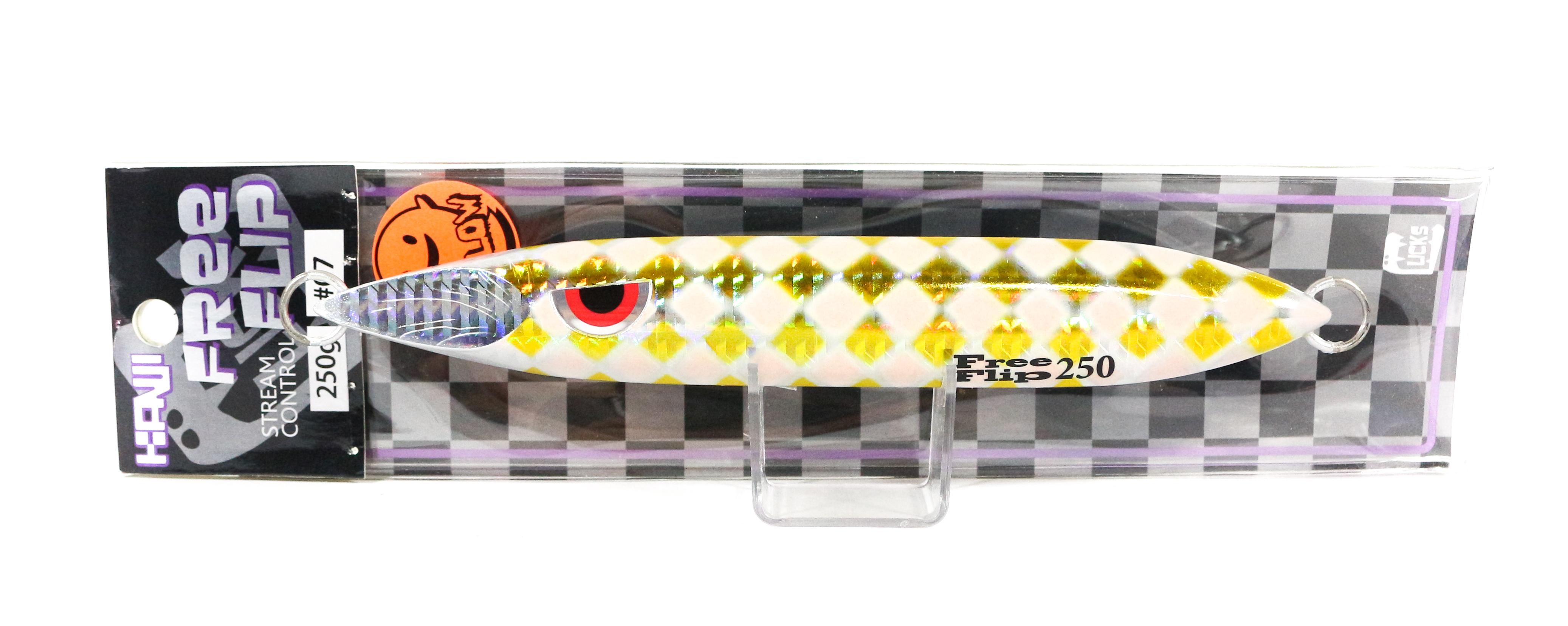 Kanji Metal Jig Free Flip 250 grams 07 (2920)