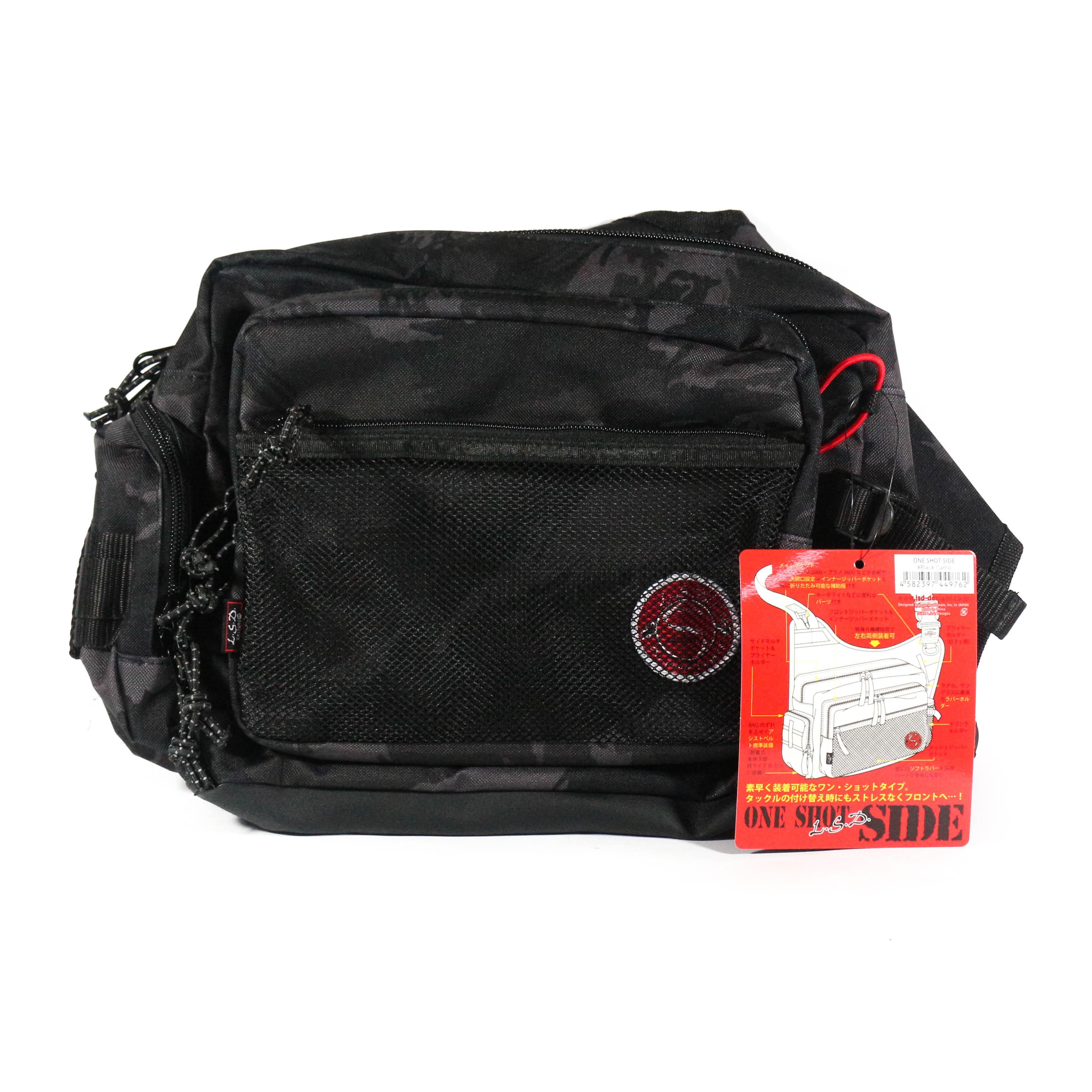 LSD One Shot Side Bag Black Camo 24 x 28.5 x 9.5 cm Black Camo (9762)