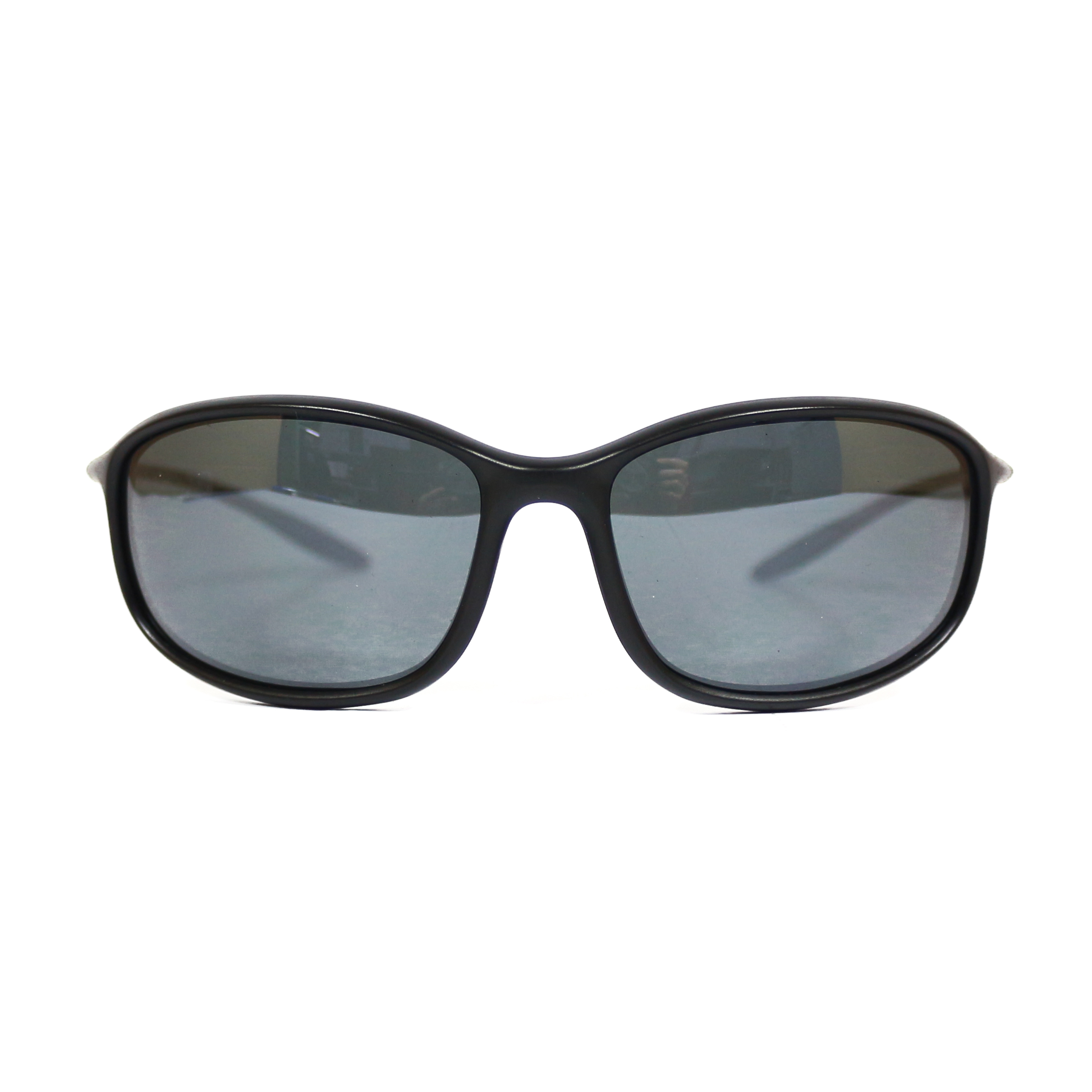 LSD Sunglasses Polarized Ultra Light Mat Blk / Silver Mirror (6872)