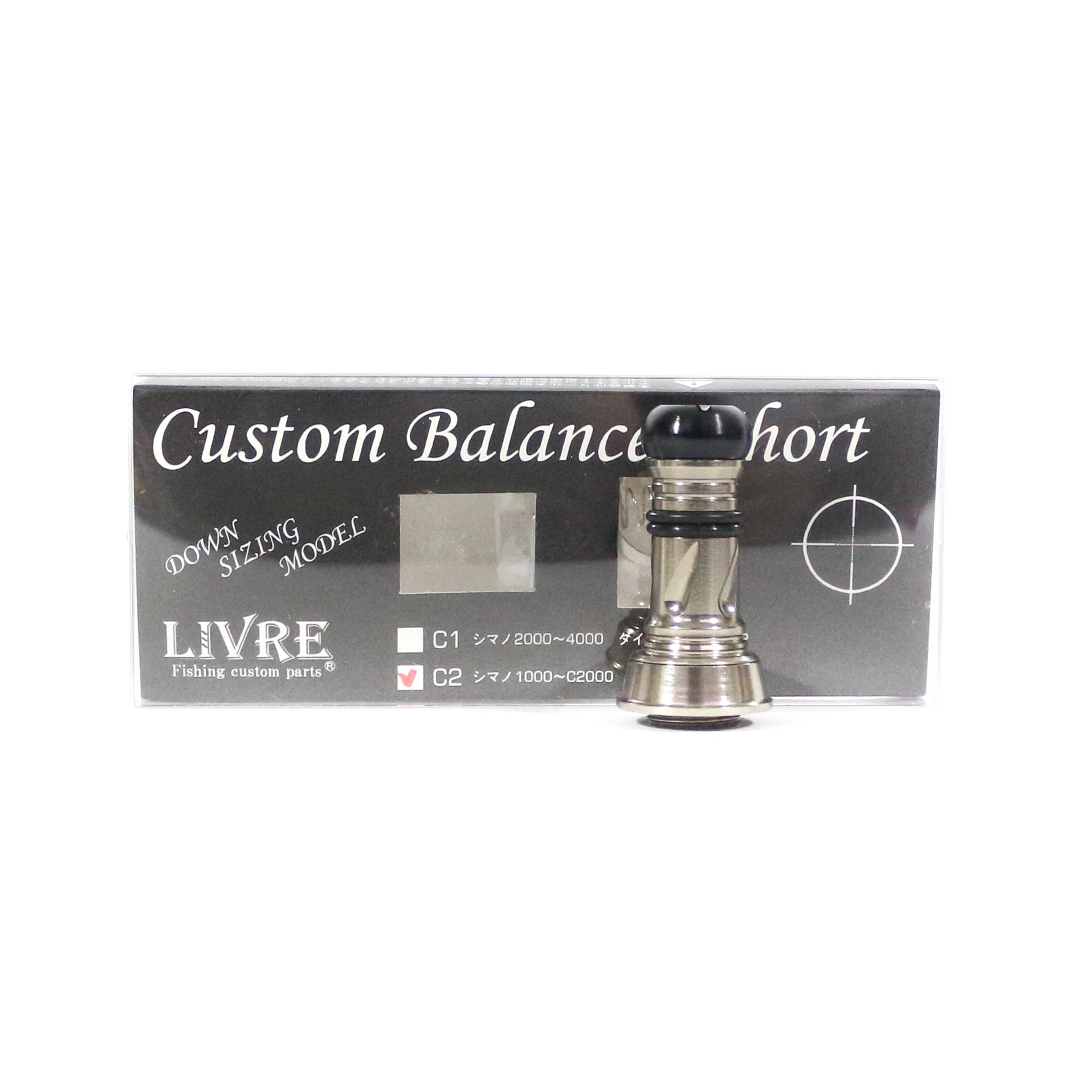 Livre CBS-CA2-TIT Custom Balancer Short 1000-C2000 C2 (titanium Gtitanium G)