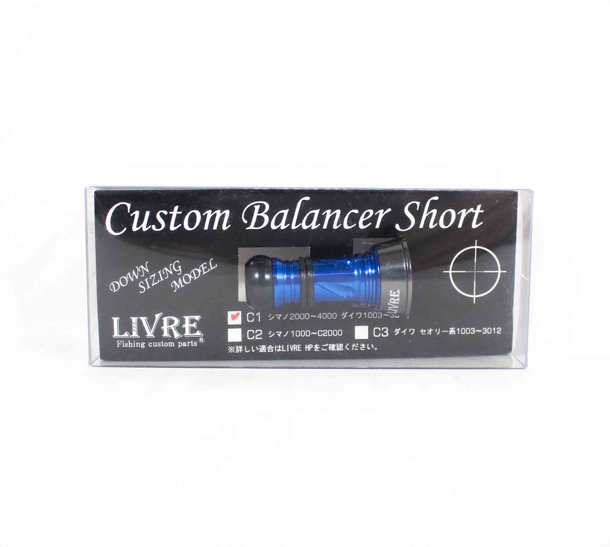 Livre CBS-CA1-GMG Custom Balancer Short shimano Daiwa C1 (Gunmetalblue)