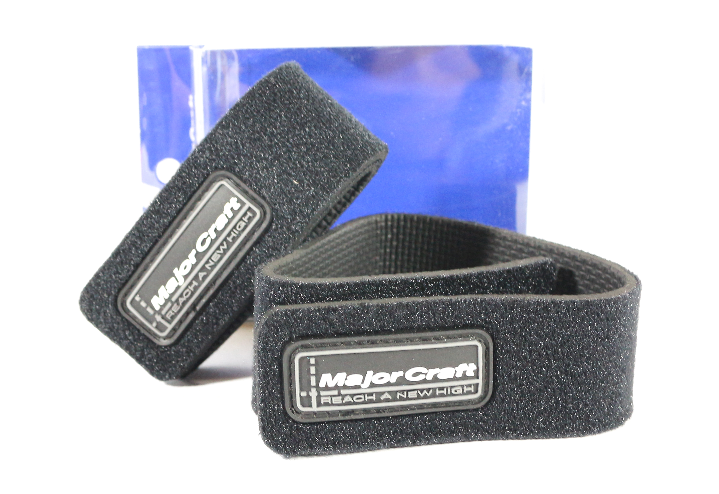 Major Craft MCRB 100BK Rod Belt Strap 2 Piece Pack Regular Size (9971)