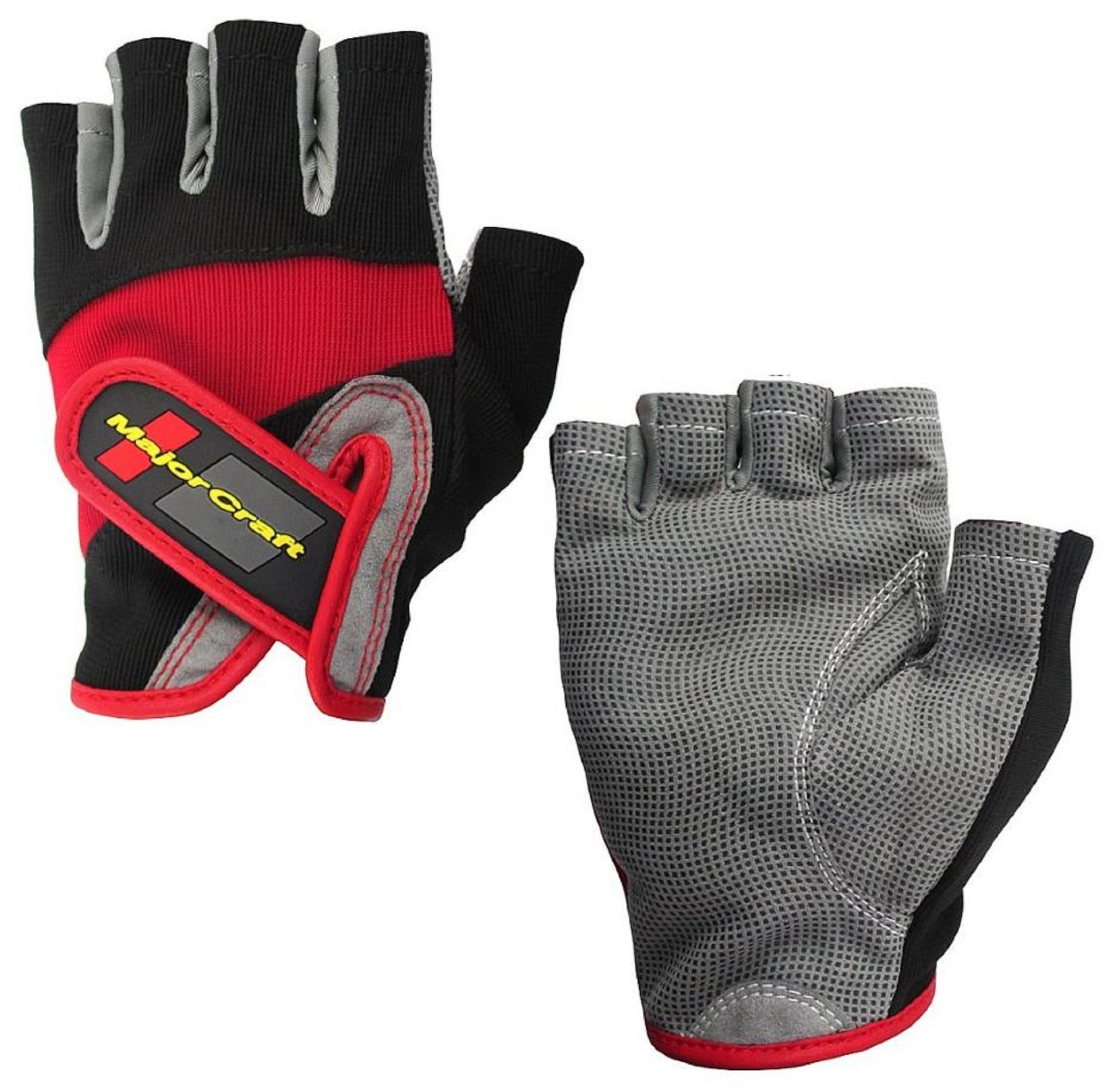 Major Craft Gloves Fishing Fingerless MCFG-5 M/BK (7045)