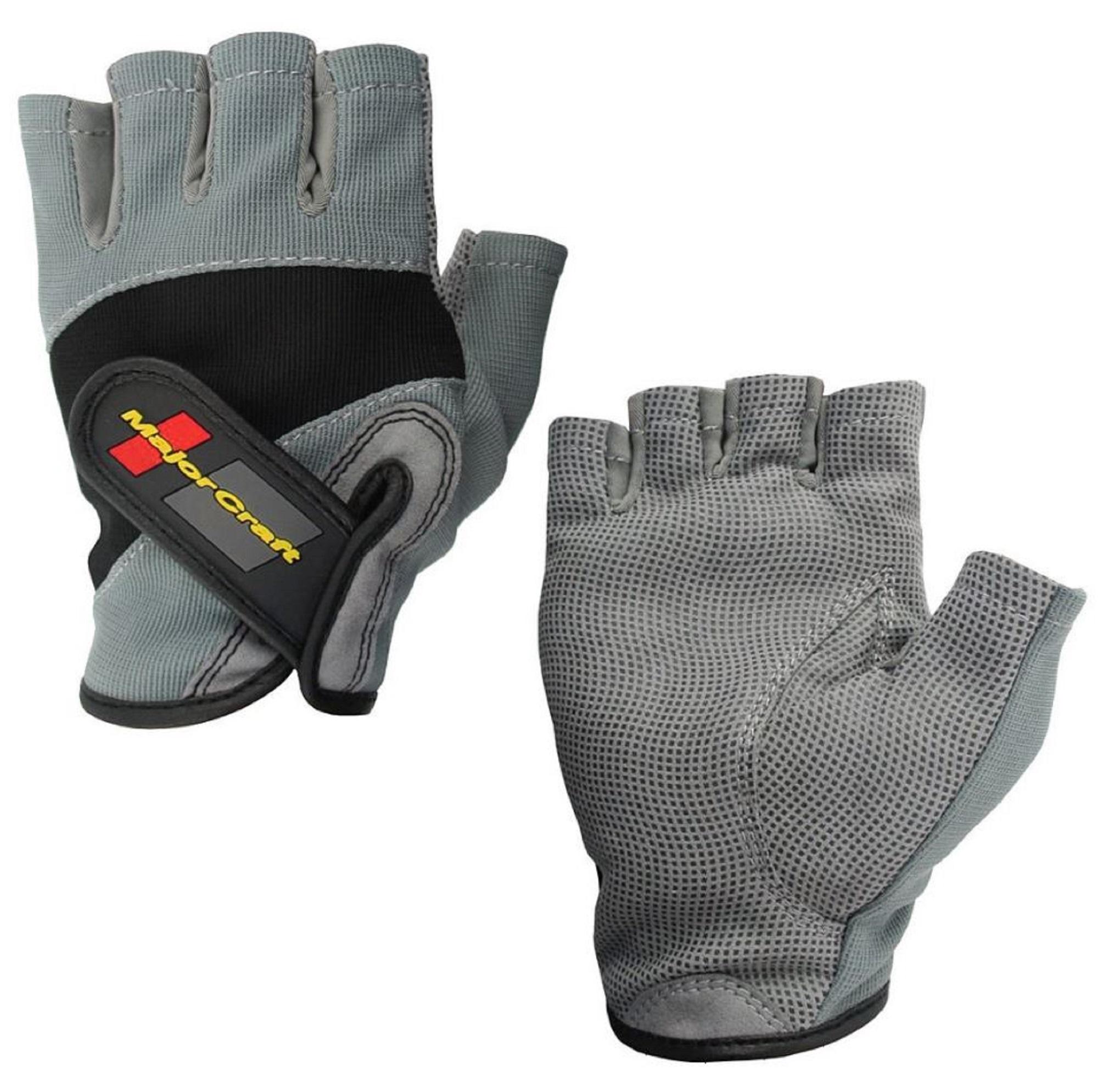 Major Craft Gloves Fishing Fingerless MCFG-5 M/GY (7106)