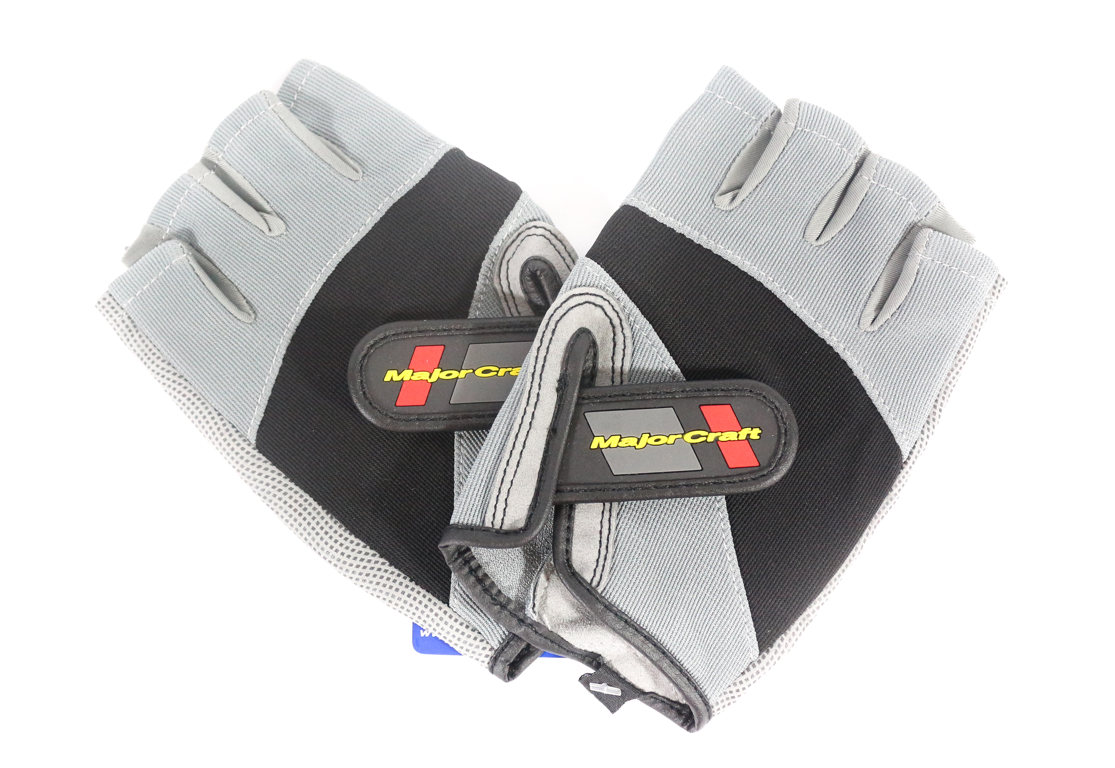Major Craft Gloves Fishing Fingerless MCFG-5 LL/GY (7120)