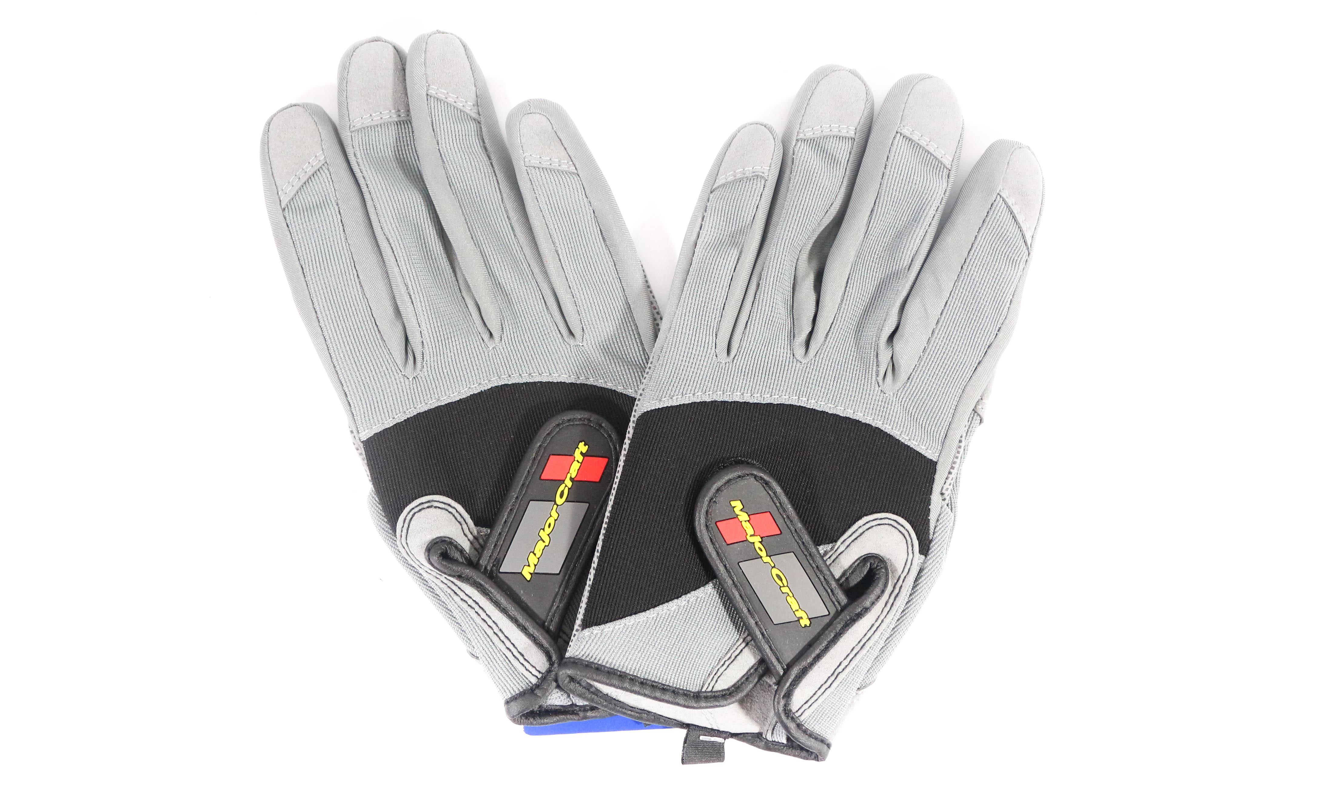 Major Craft Gloves Fishing Jigging MCJG-M/GY (7199)