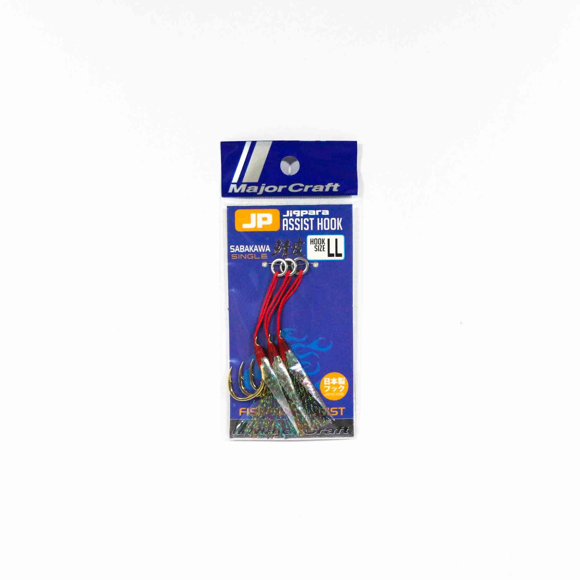 35lb 2 Sets per pack Major Craft JP-Sabiki Size L Max 60g Branch 25lb 4237