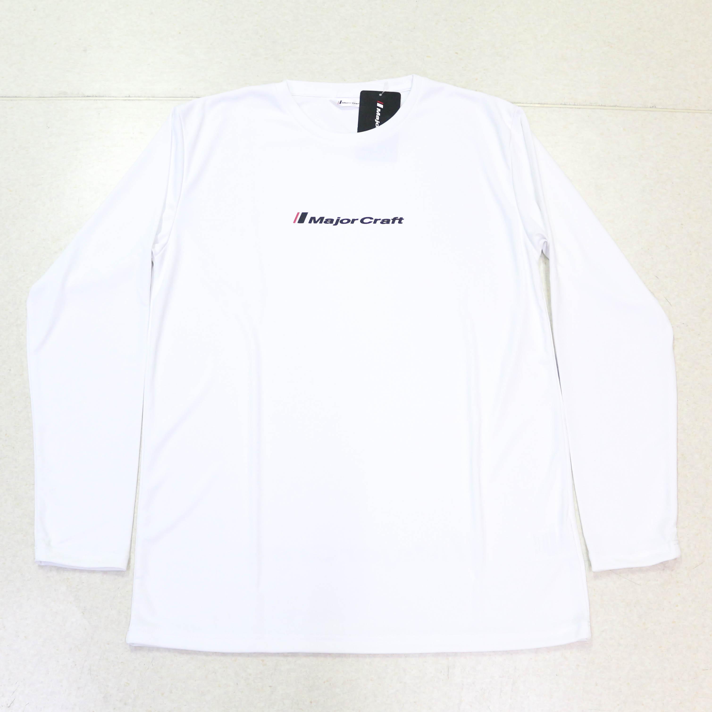 Major Craft T-Shirt Long Sleeve MCW-DLT-S/WH (3017)